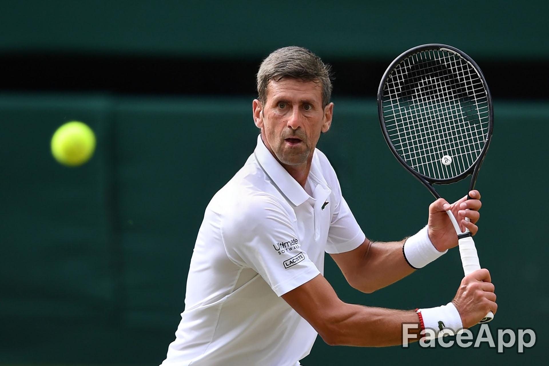 En el año 2050, Novak Djokovic se consagra campeón de WImbledon y vuelve a ser número 1 del mundo
