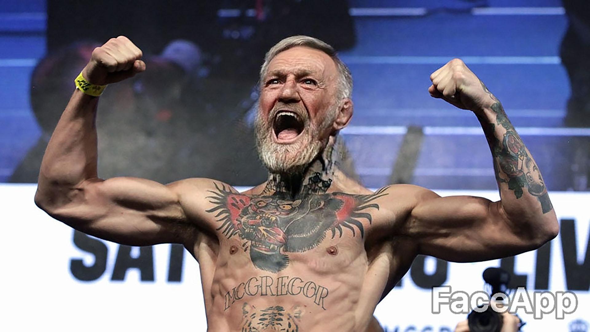 Conor McGregor, a los 74 años, retó a Floyd Mayweather a una revancha