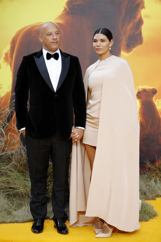 Vin Diesel y Paloma Jimenez entre los invitados de la presentación en Londres.