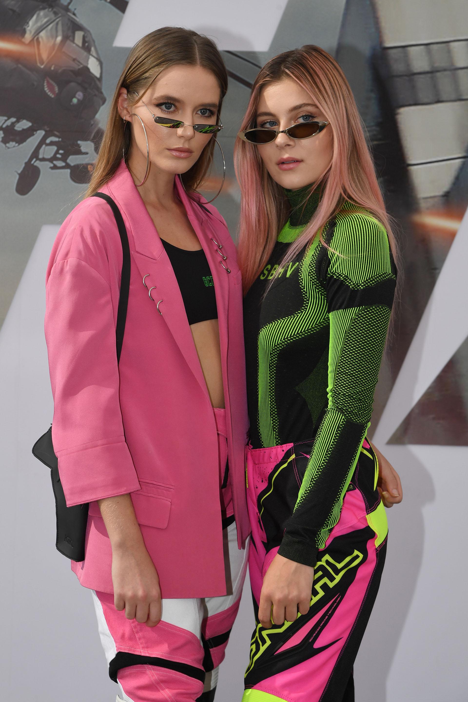 Ruby Carr y Natalia Panzarella