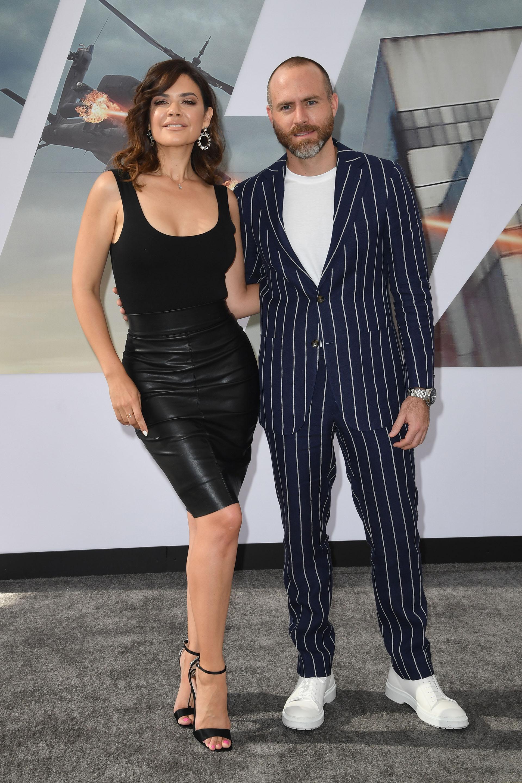 Angelica Celaya y Erik Hayser