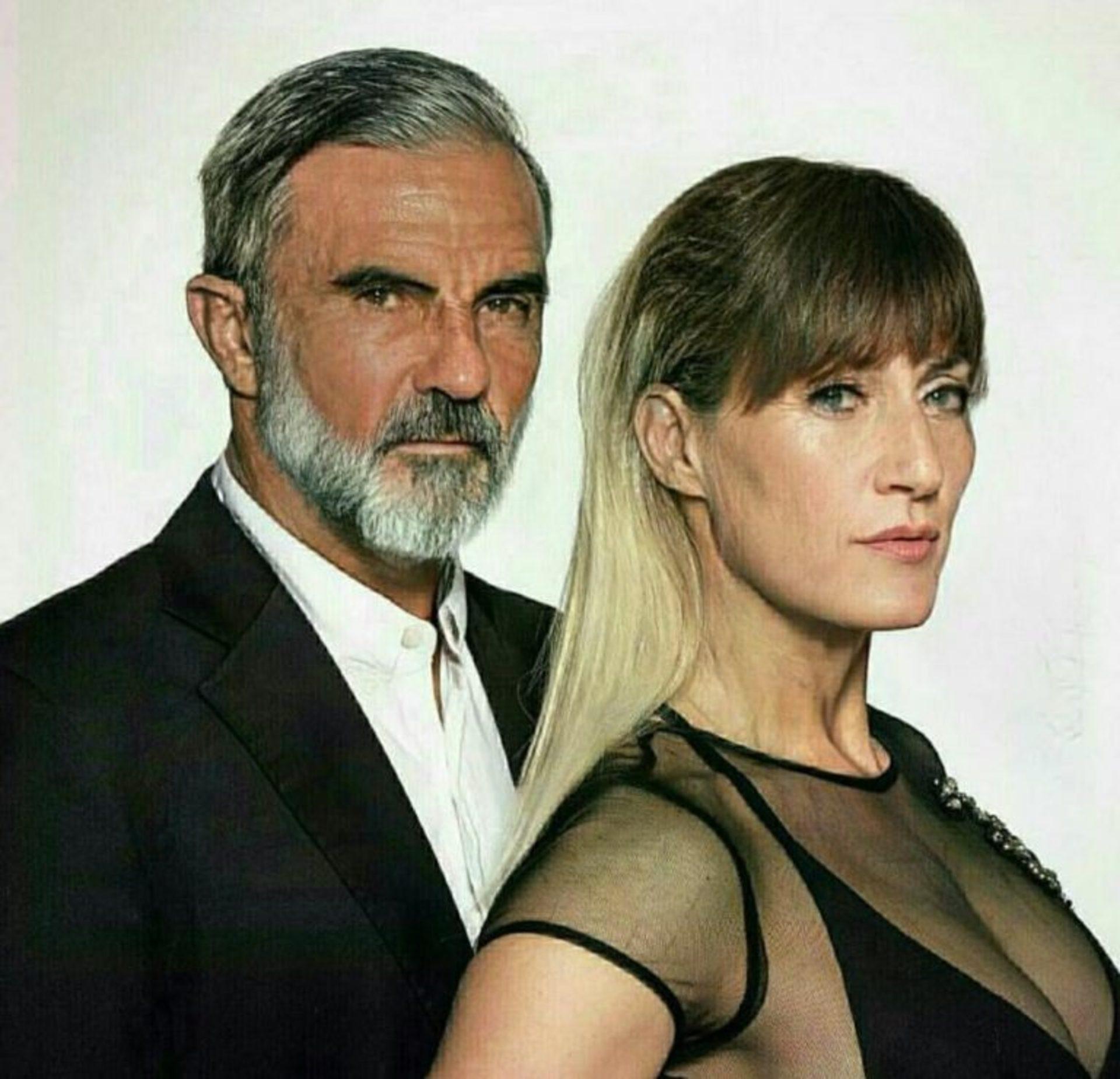 Fabián Cubero y Mica Viciconte.