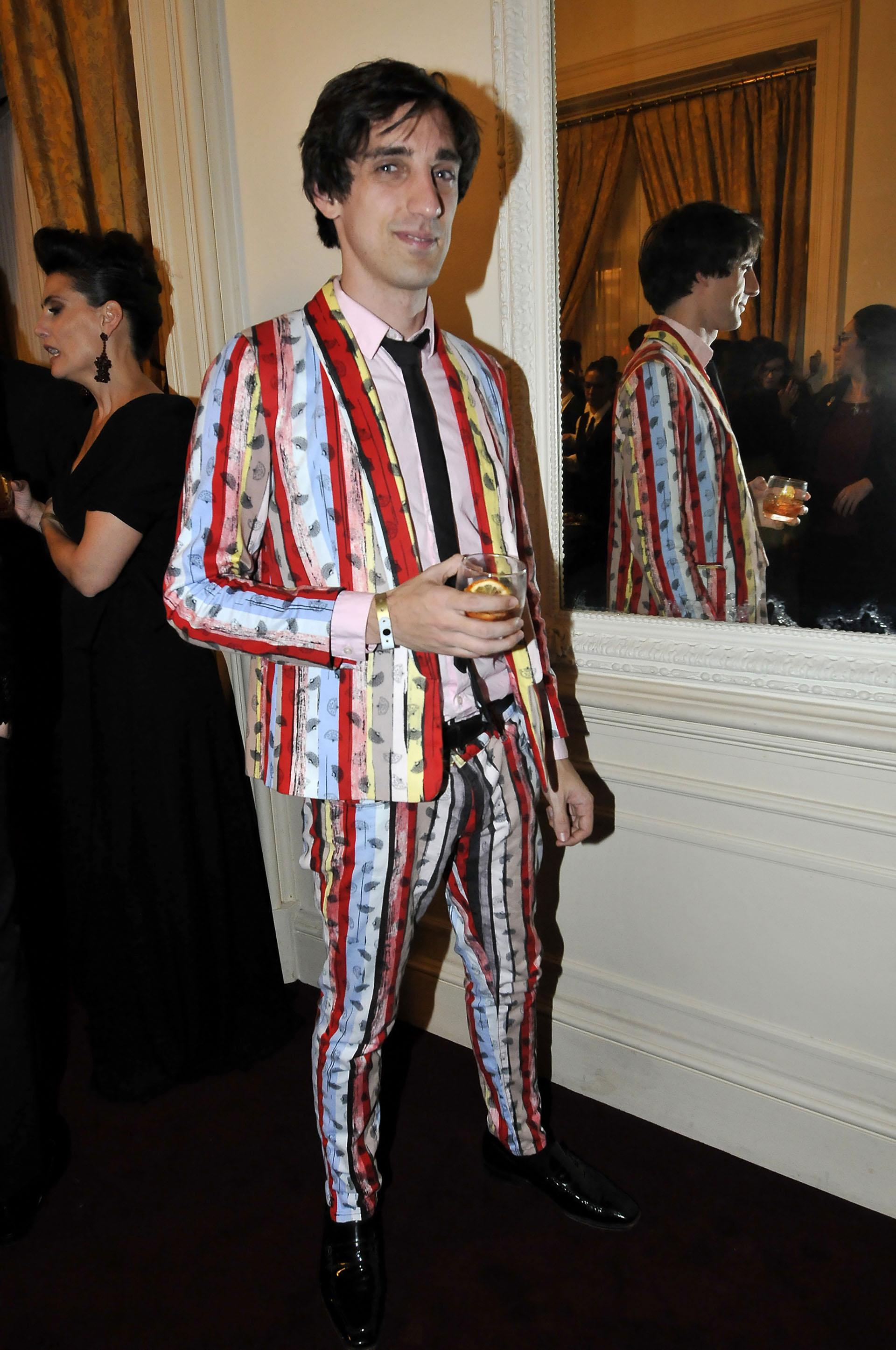 Lucas, el hijo de Benito Fernández, fiel a su estilo (Fotos: Teleshow)
