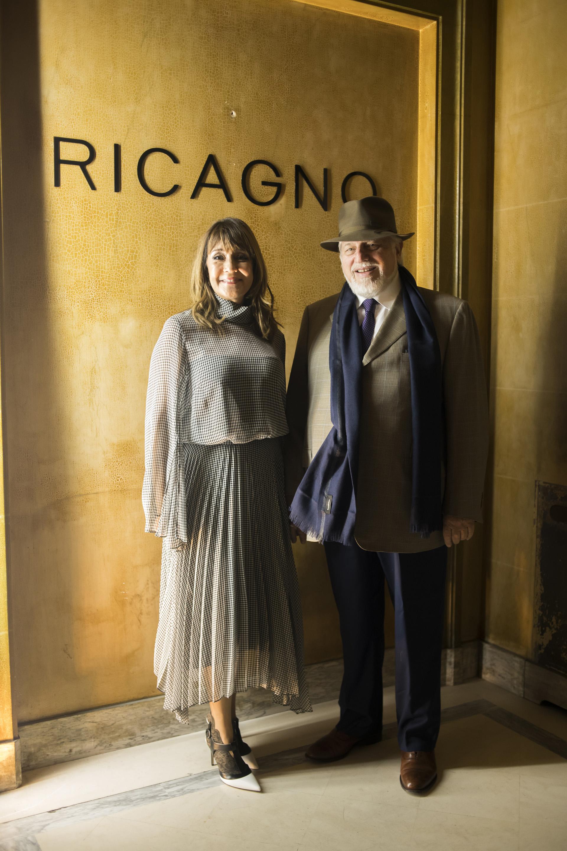 Fabiana Ricagno y Adrián Werthein.La creadora estudió diseño en Londres en Central Saint Martins y allí comenzó a darle forma a la marca de zapatos
