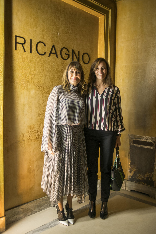Fabiana Ricagno y Cecilia Nobili