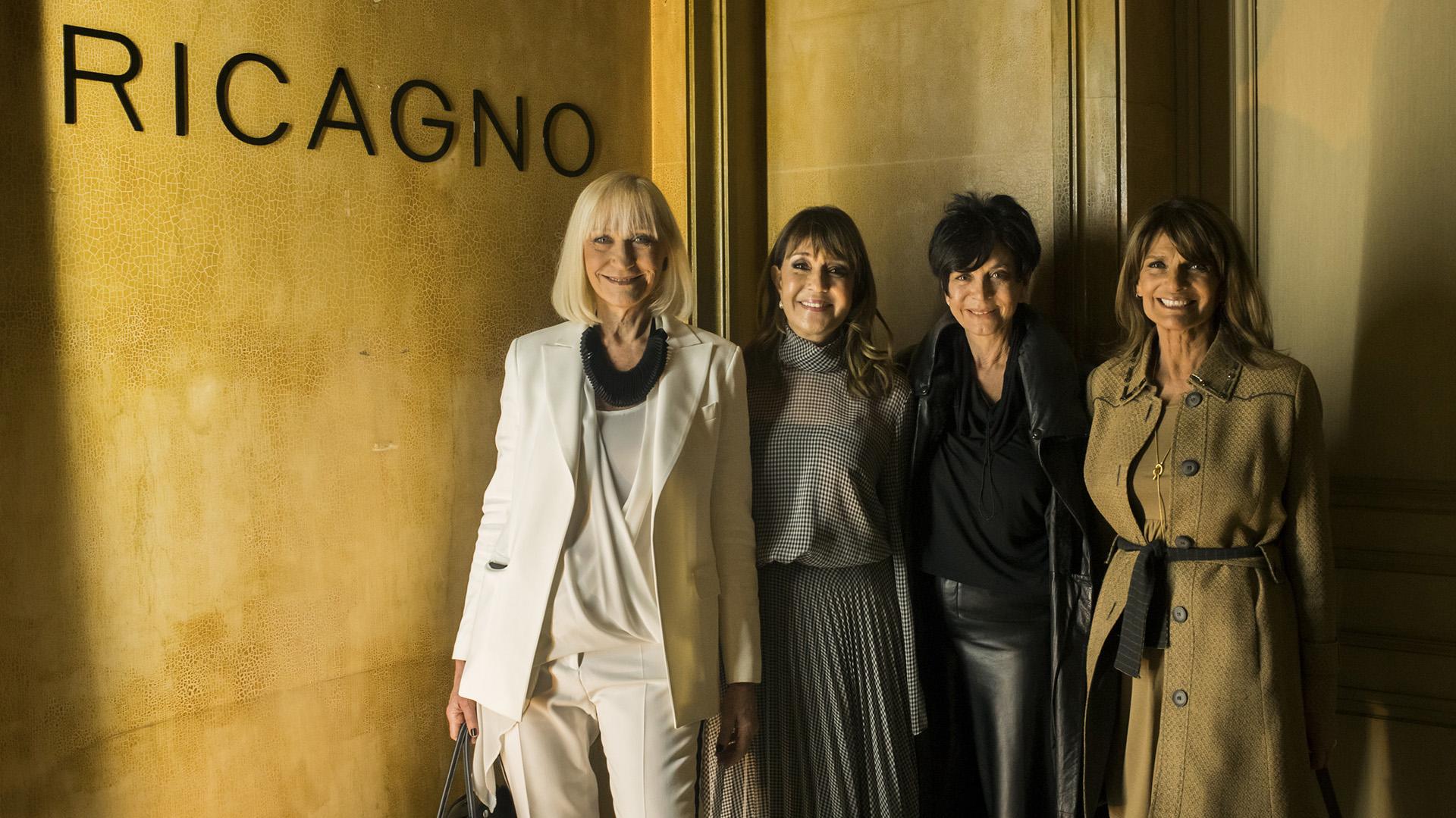 Teresa Frias, Fabiana Ricagno, Mónica Gutiérrez y Teresa Calandra