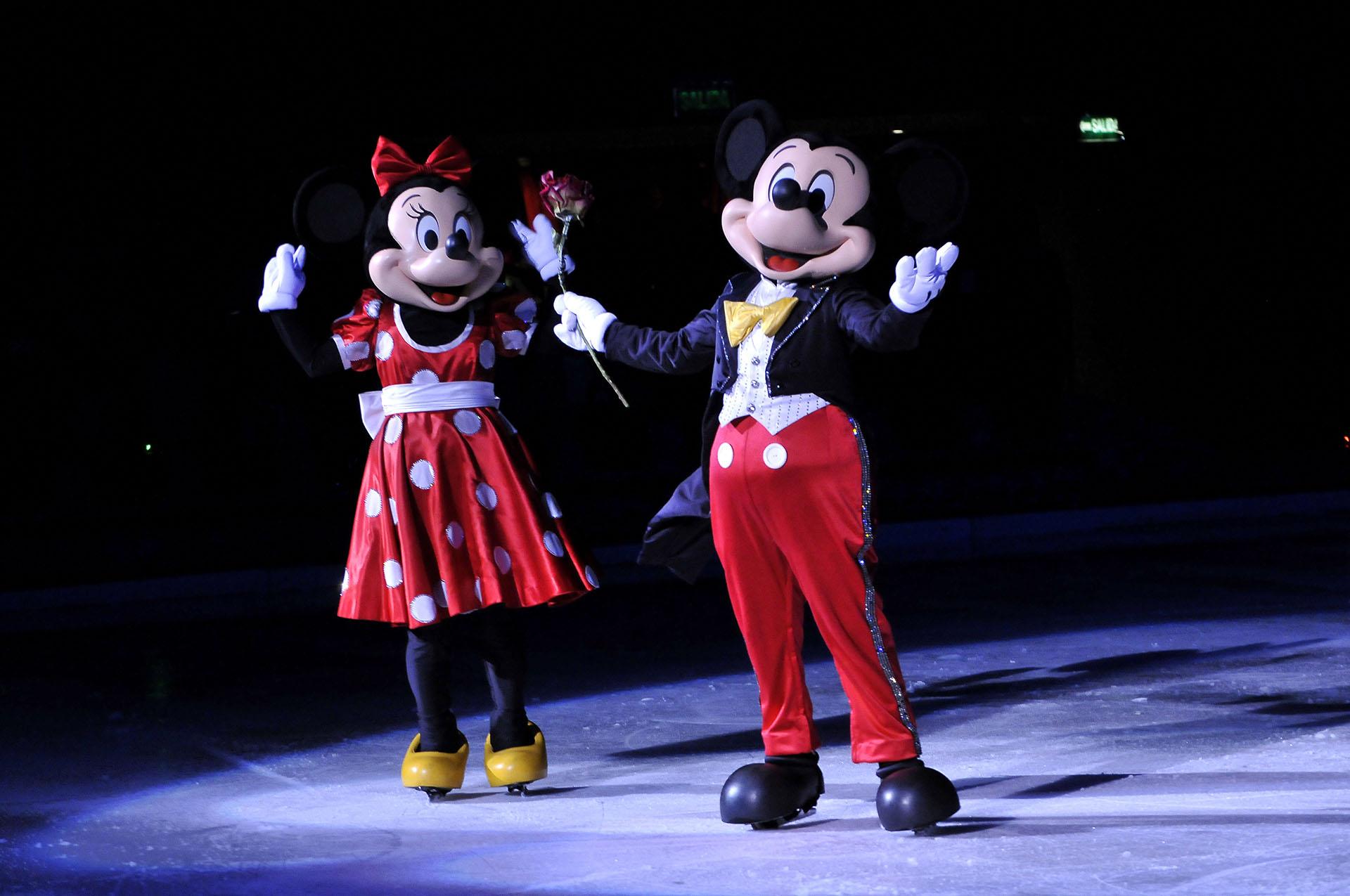 Los famosos disfrutaron del show de Disney on Ice junto a sus pequeños