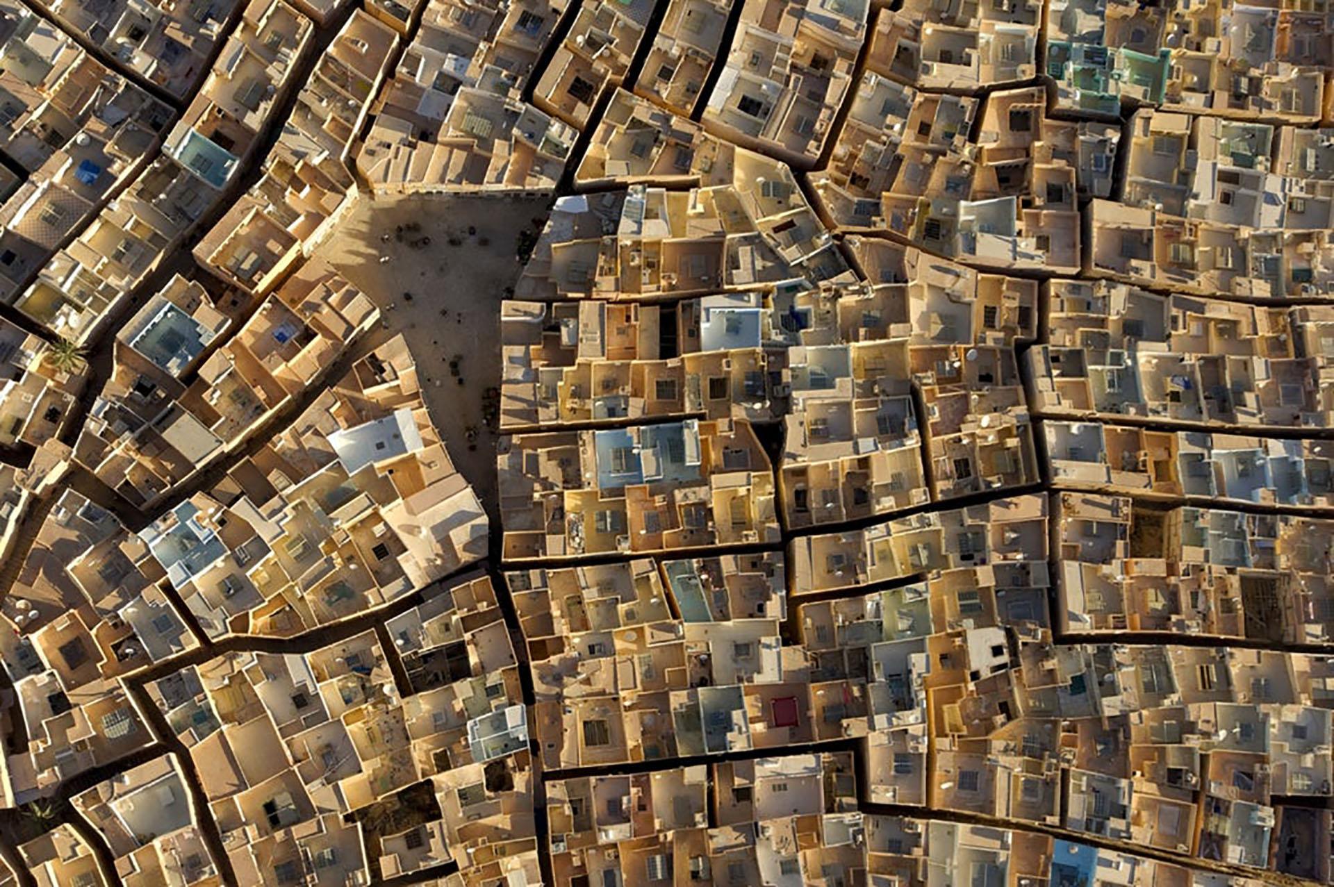 Ganadora a la imagen urbana del año (George Steinmetz)