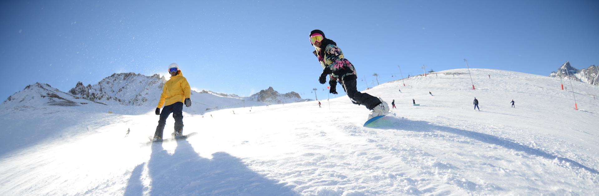 Este año, Las Leñas se preparó para que los viajeros disfruten de la nieve con distintas propuestas y atracciones, permitiendo una experiencia única desde lo más alto