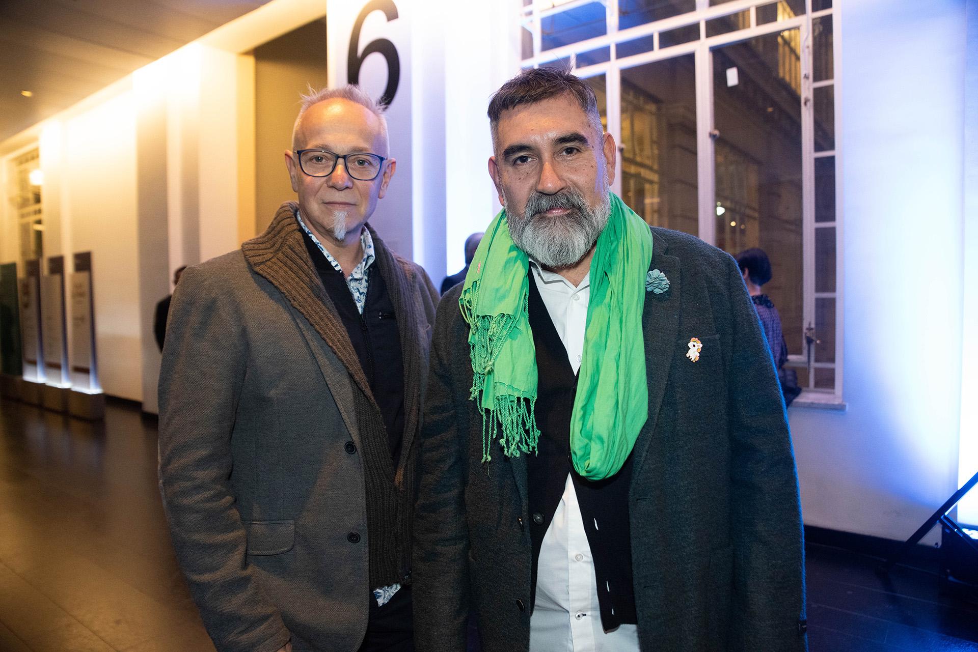 Los artistas Chiachio & Giannone
