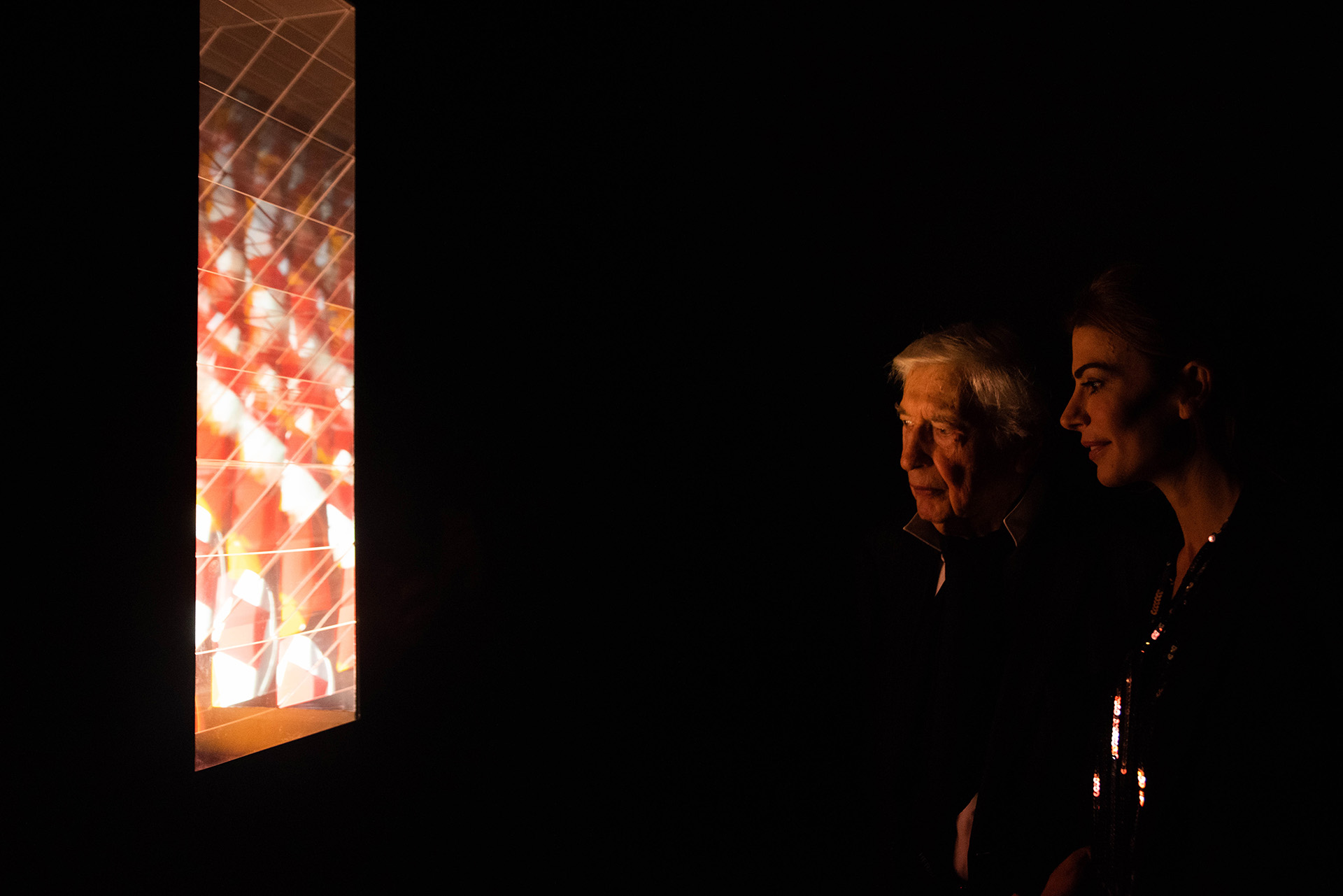 Luz: su obra en movimiento donde el espectador cobra una papel central