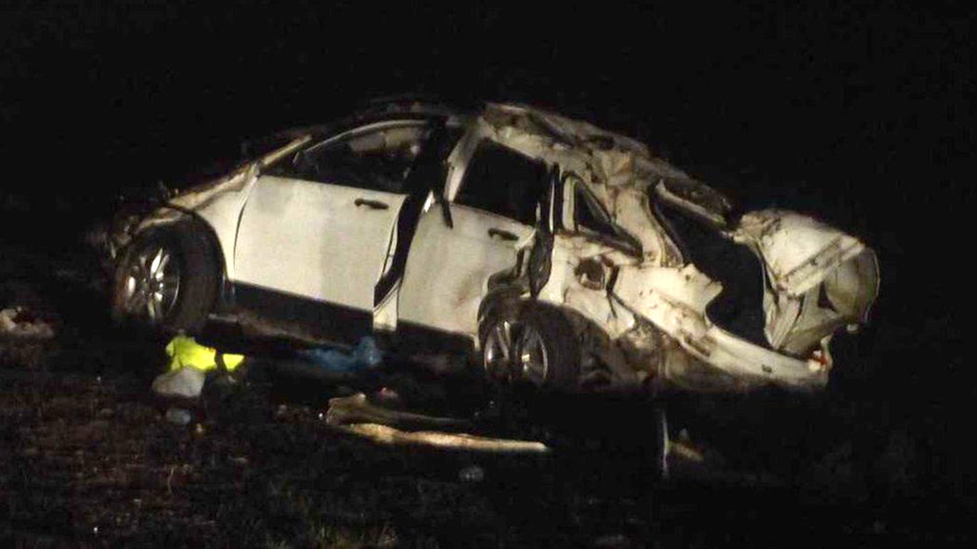 Resultado de imagen para Grave accidente de El Pepo: volcó con su camioneta y murieron dos acompañantes