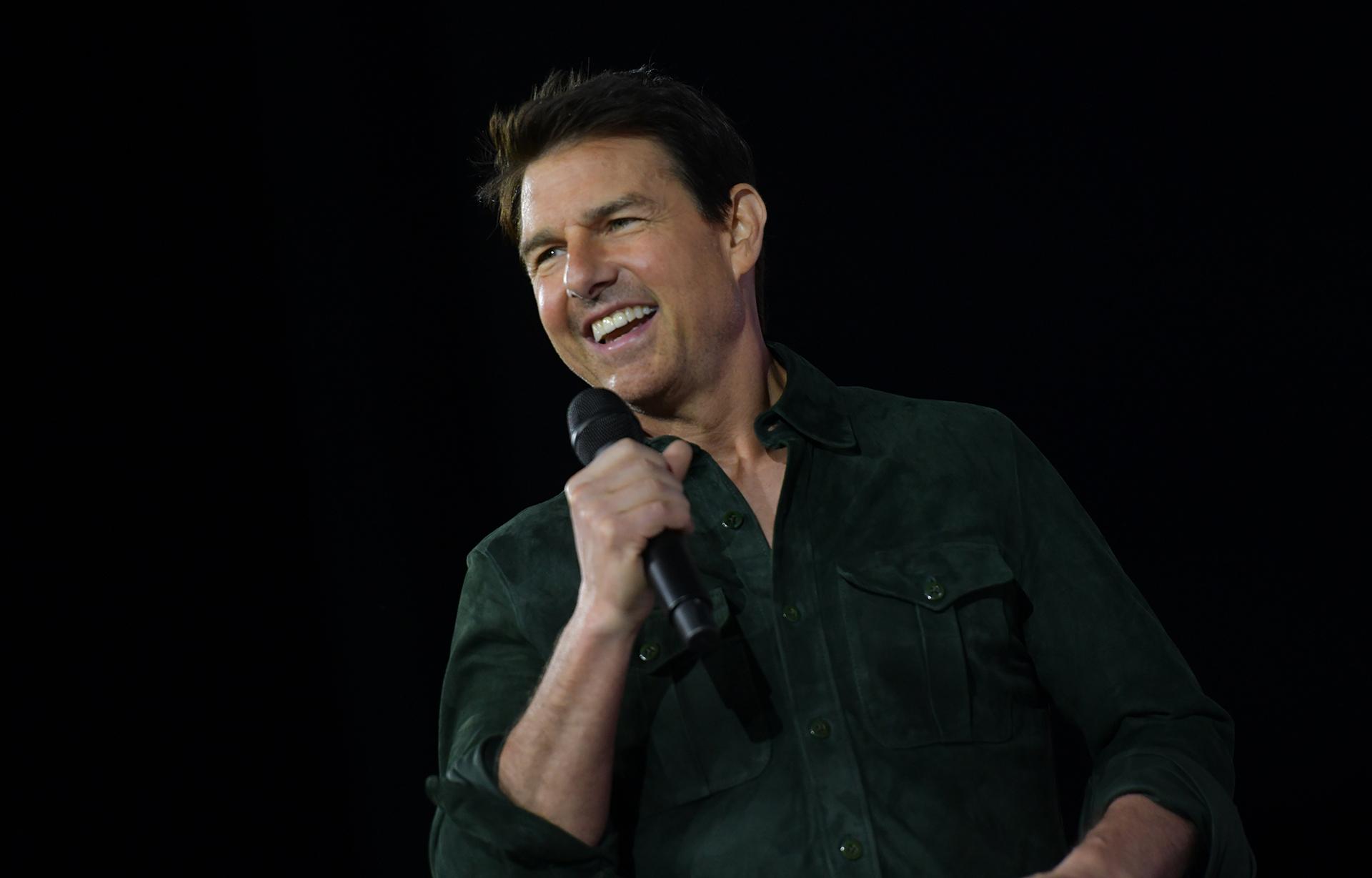 """Tom Cruise sorprendió a los asistentes en el Festival de San Diego durante la presentación de """"Top Gun: Maverick"""""""