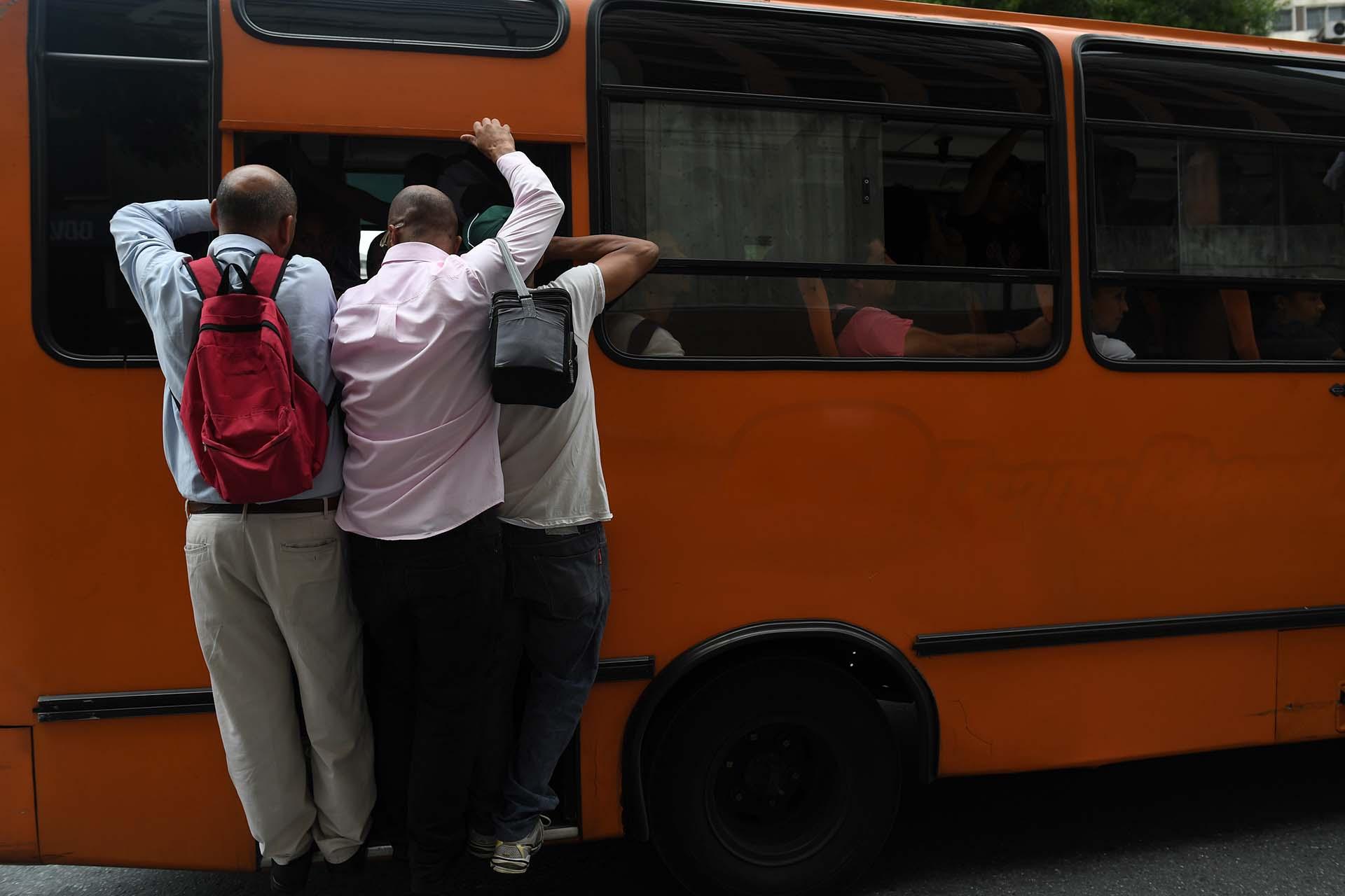 El transporte público se vio colapsado porel corte del metro
