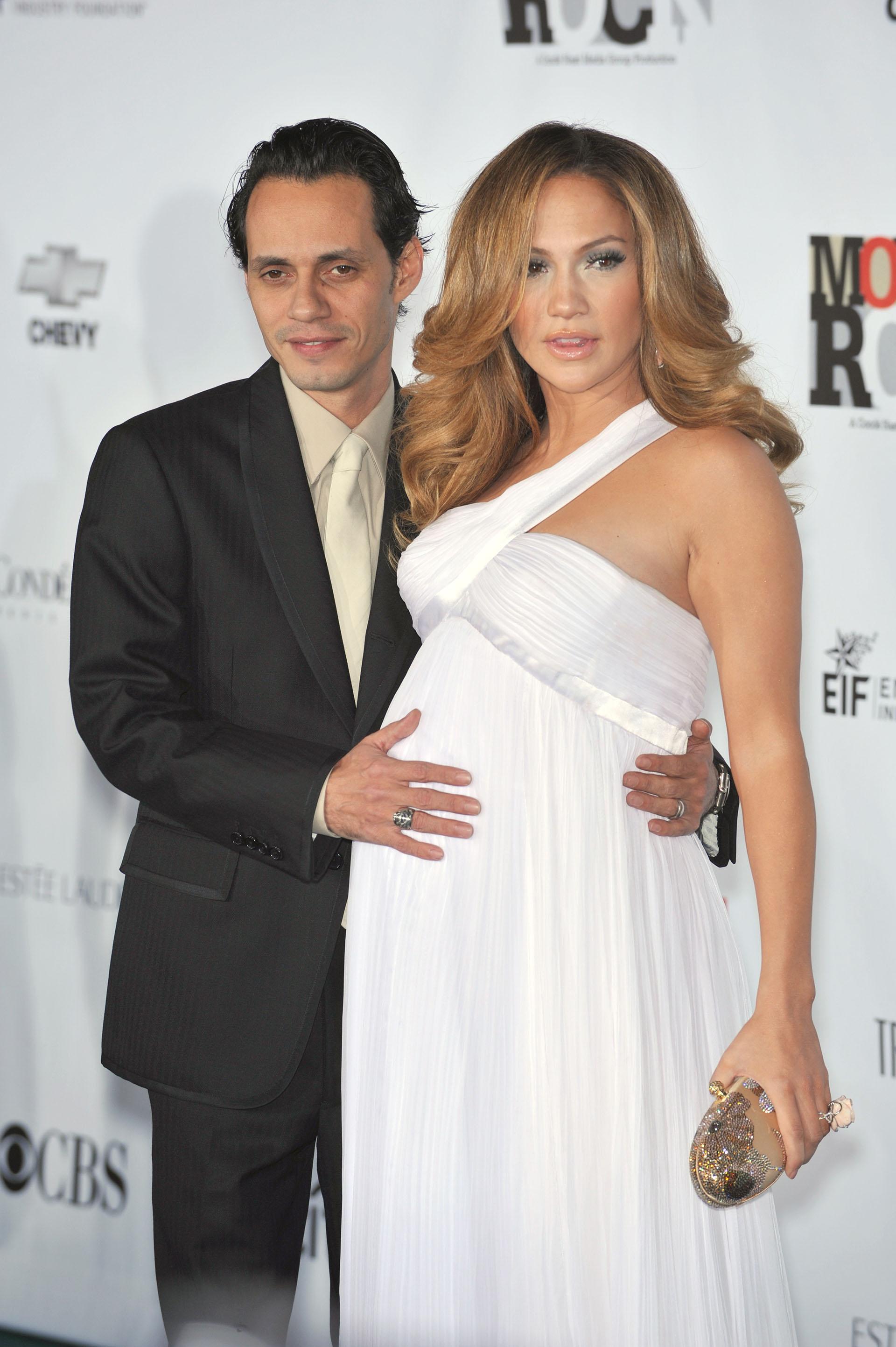 J.Lo y Marc Anthony, el padre de sus mellizos / Shutterstock