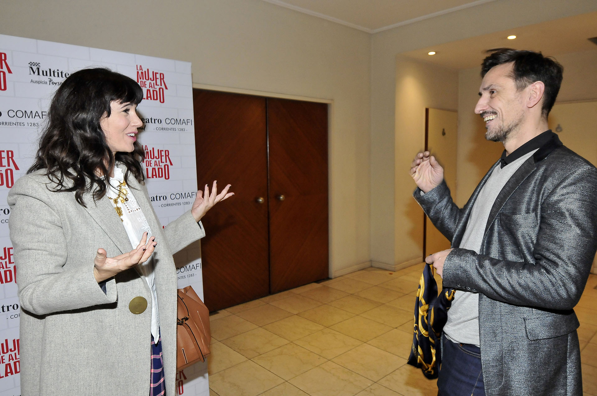 Griselda Siciliani y Carlos Casella
