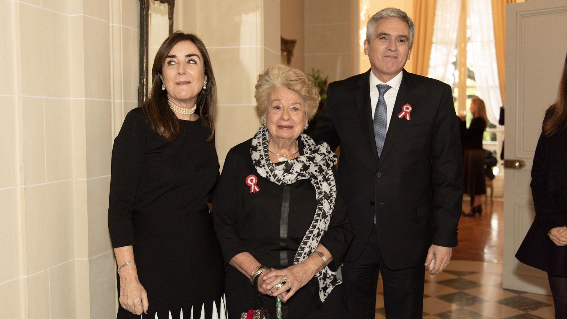 Carmen Callirgos de Steinmann, presidenta de la asociación sin fines de lucro Damas Peruanas en Argentina
