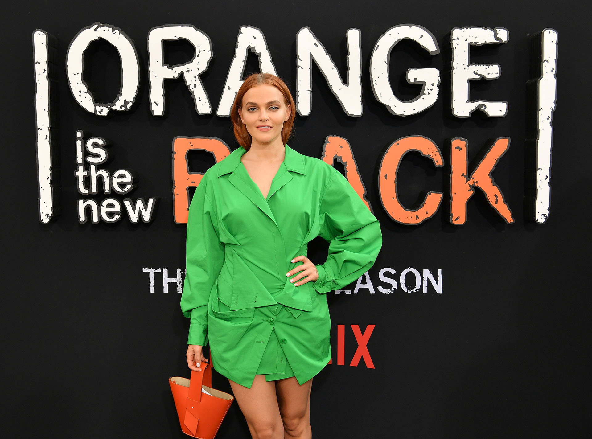 Madeline Brewer con un sello trendy