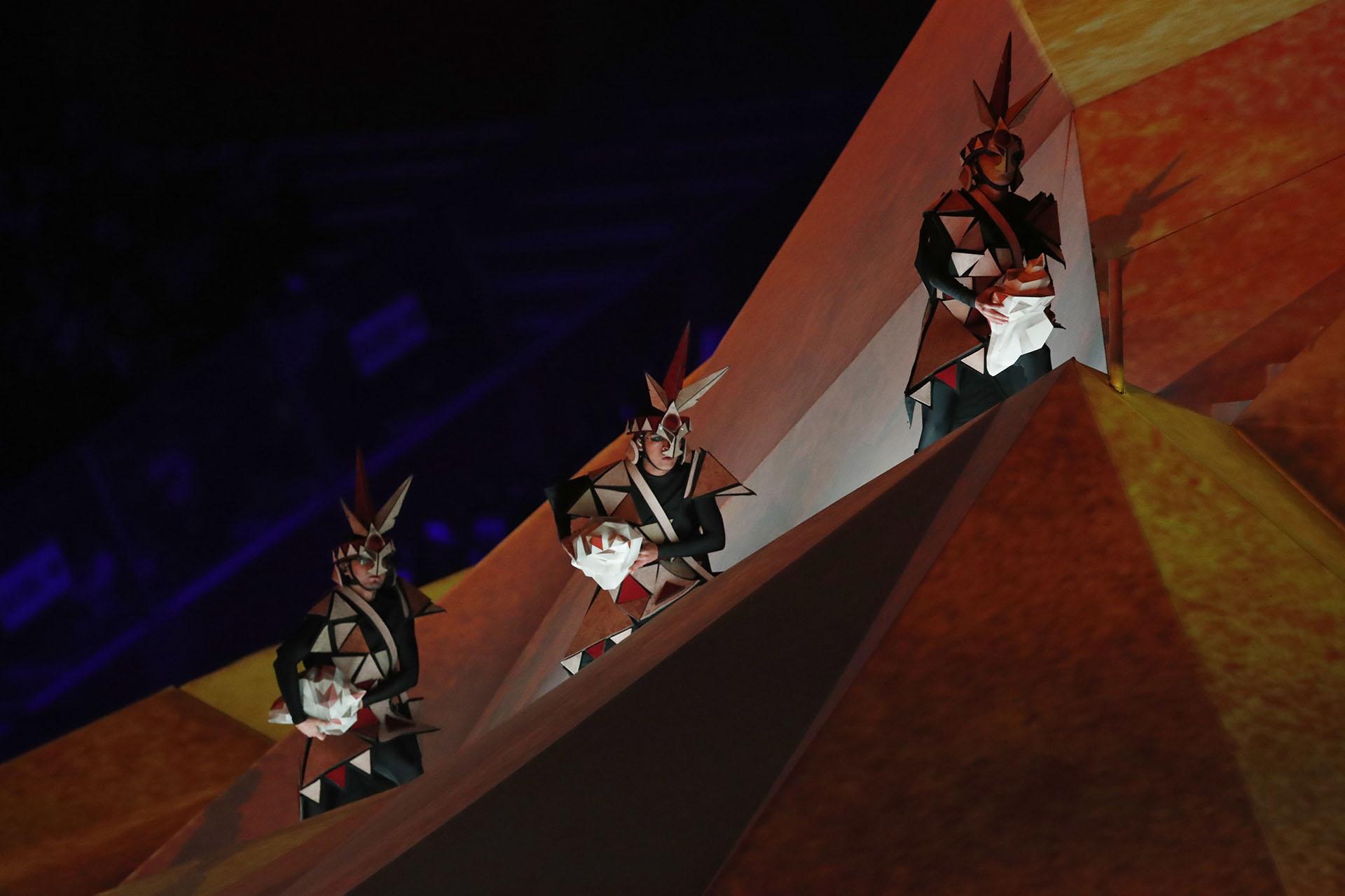 El eje central de la historia de la ceremonia inaugural: todas las tradiciones del PErú (REUTERS/Henry Romero)
