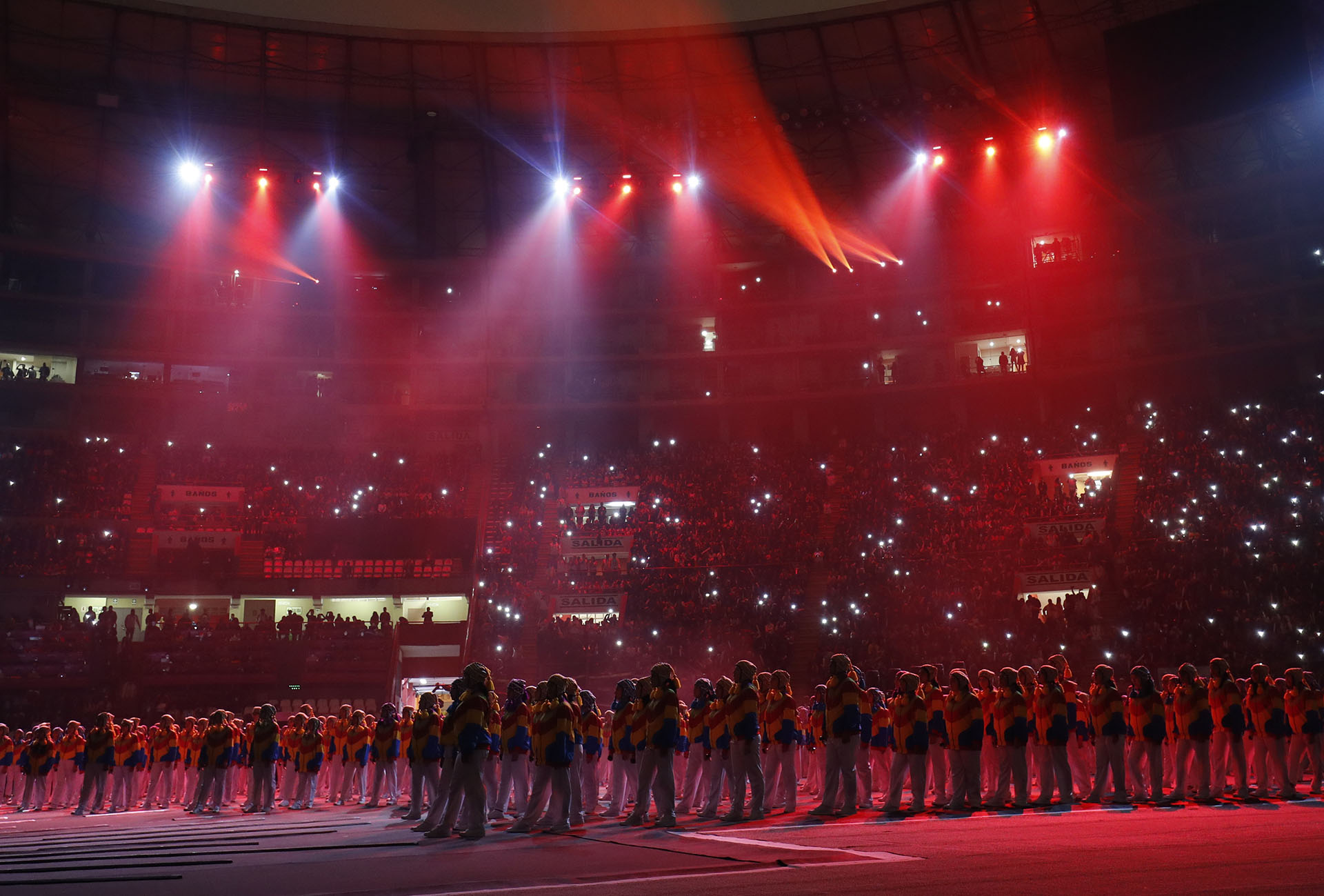 Más de 30 mil personas disfrutan de la ceremonia inaugural de Lima 2019 (REUTERS/Susana Vera)