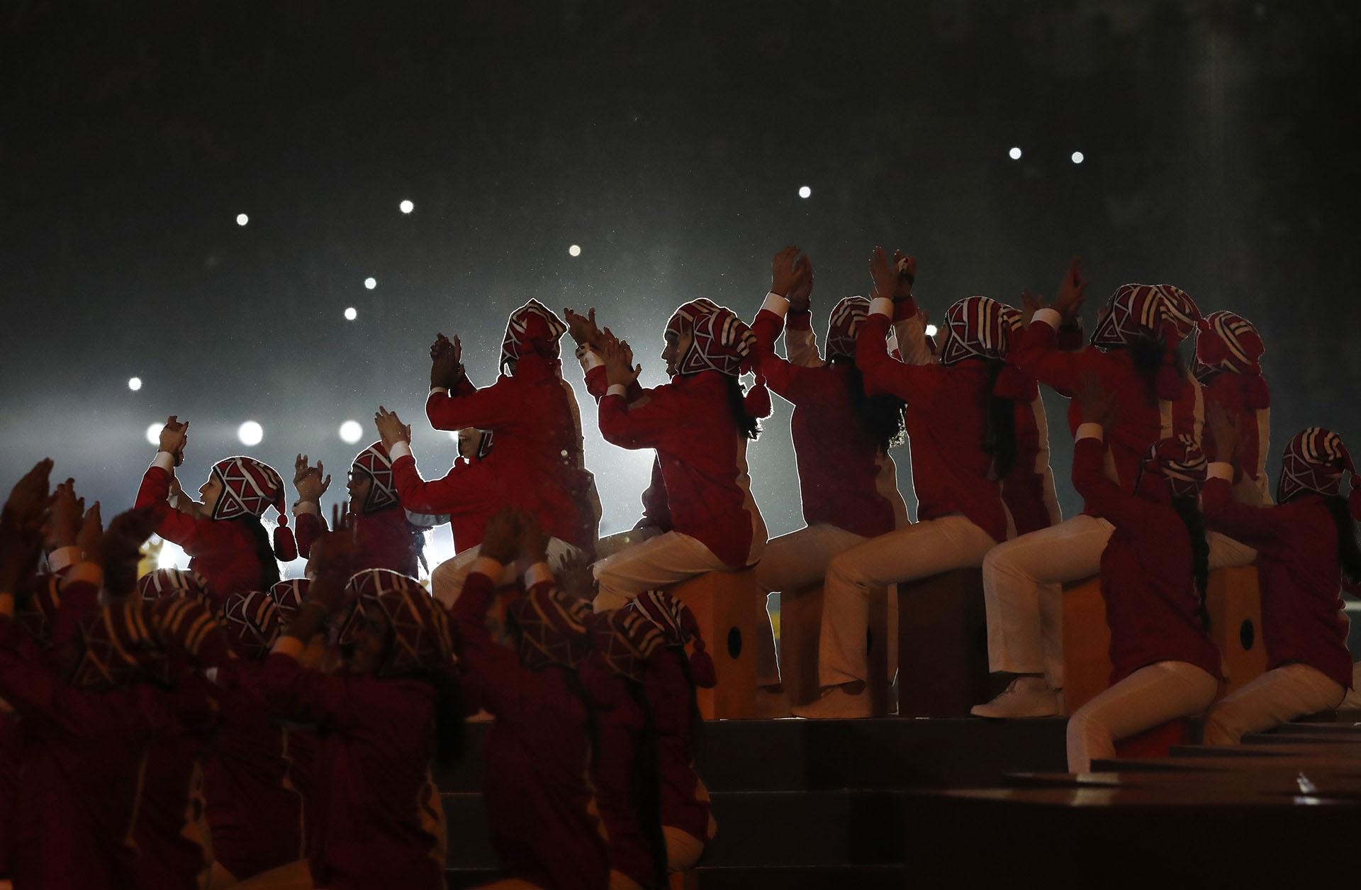 La cultura incaia fue el centro del relato de la apertura de los Juegos Panamericanos(REUTERS/Henry Romero)