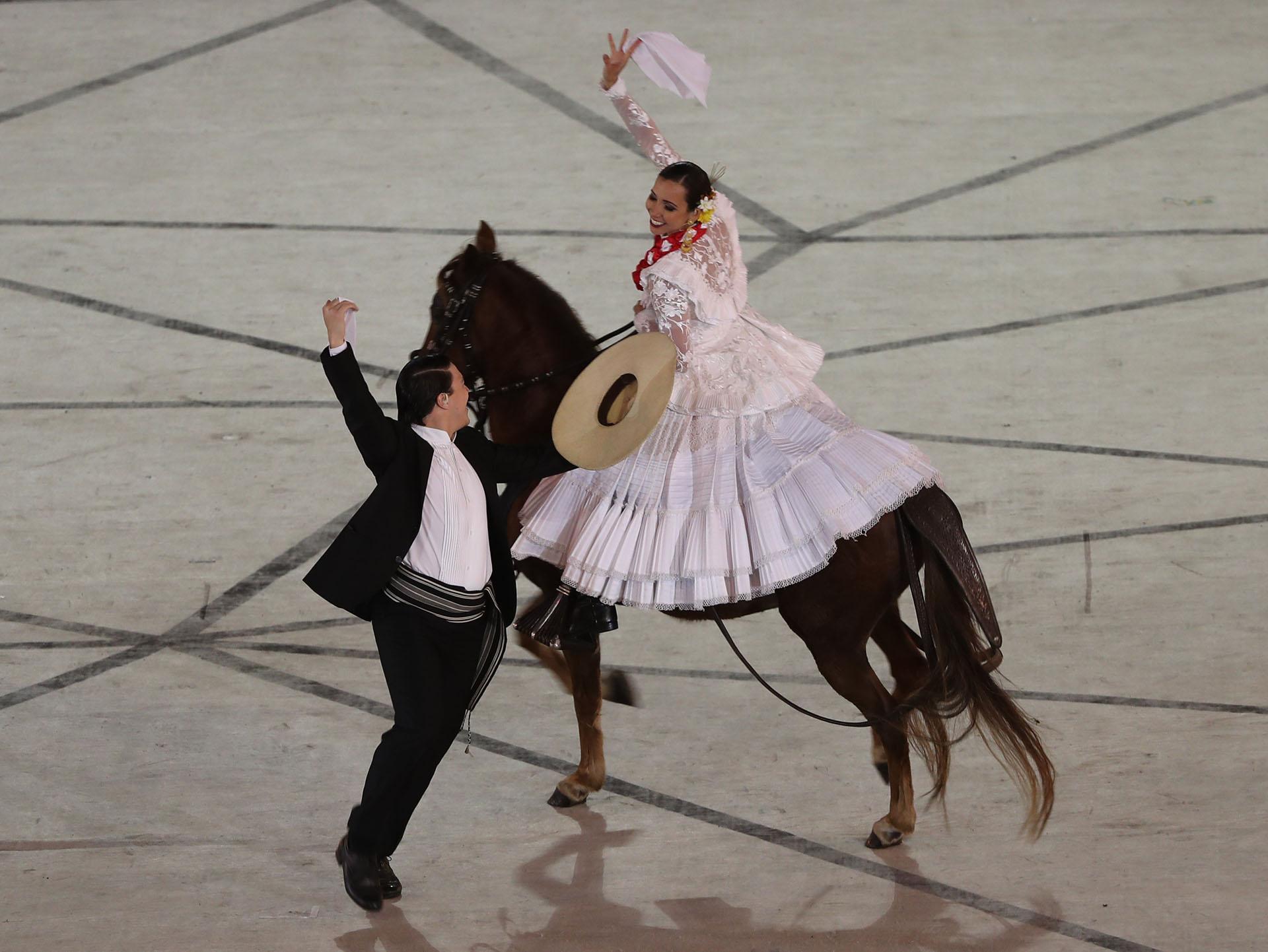 La ceremonia inaugural de los Juegos Panamericanos de Lima 2019 (REUTERS/Sergio Moraes)