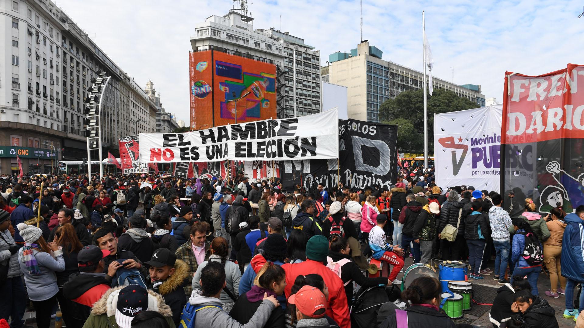 La movilizaciónse llevó adelante en la ciudad de Buenos Aires y 17 provincias