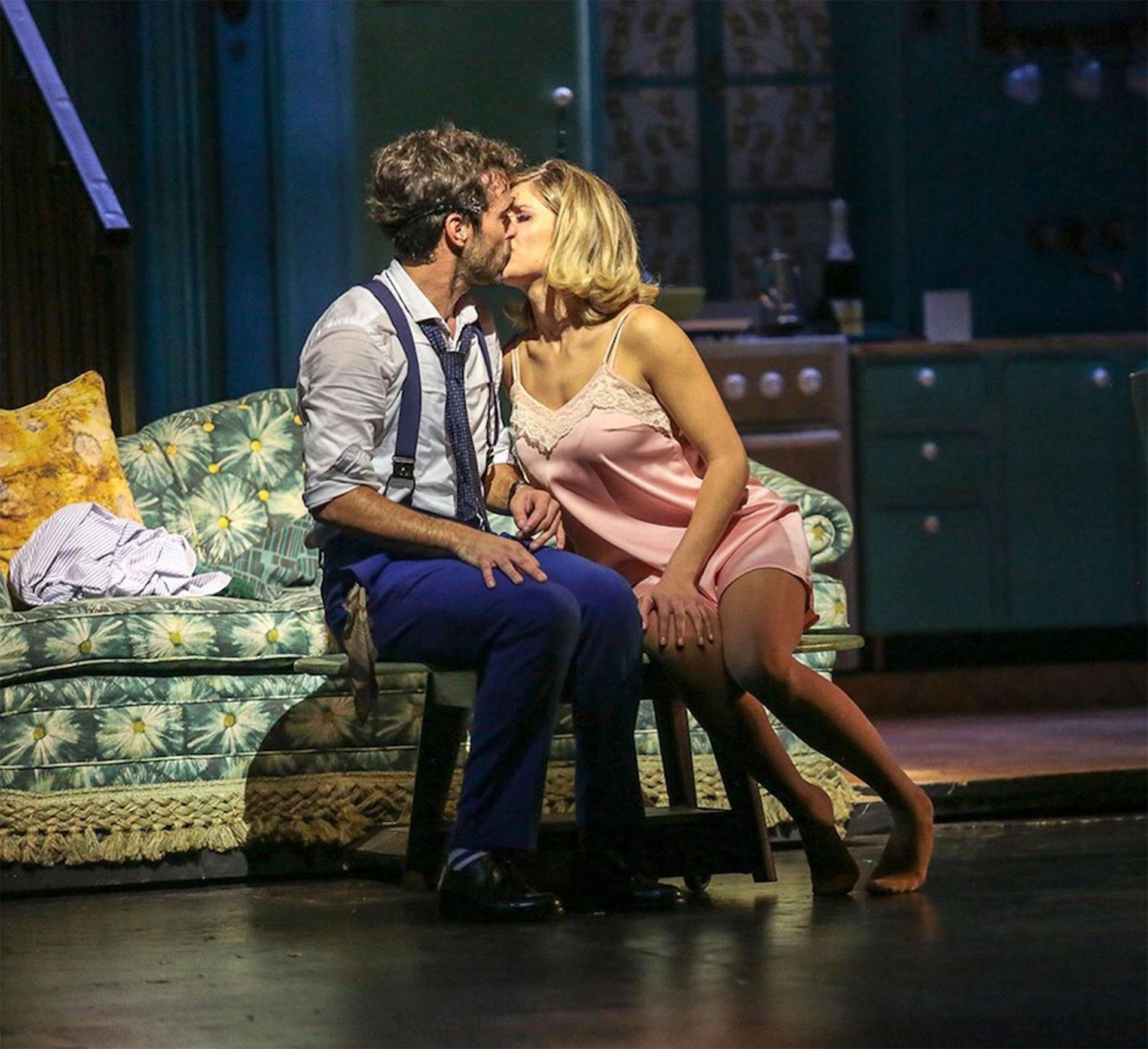 """El 22 de mayo fue el estreno de """"Departamento de soltero"""" la nuevaobra que protagonizan juntos."""