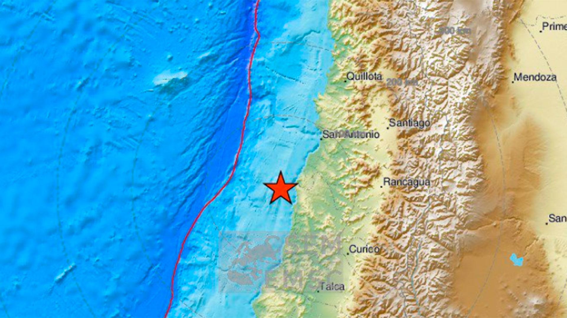 Resultado de imagen para sismo chile