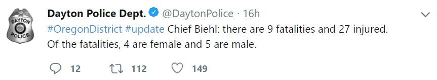 (Foto: Twitter @DaytonPolice)