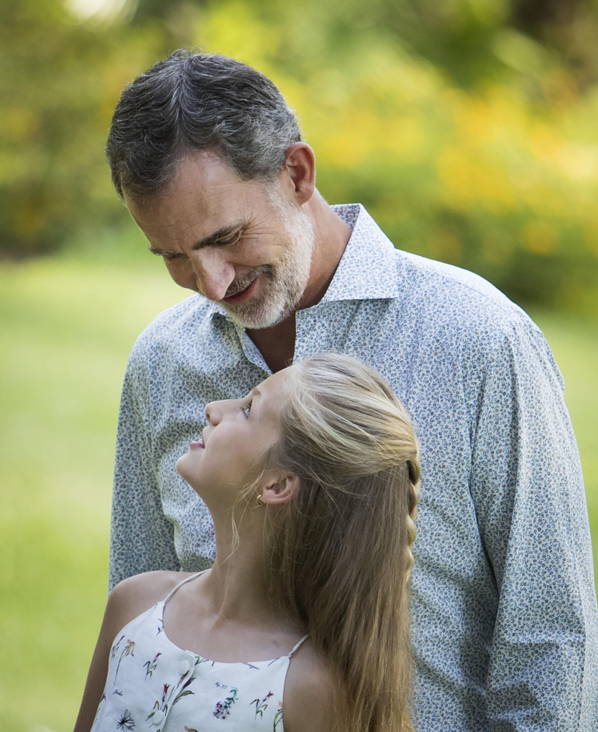 Complicidad entre padre e hija