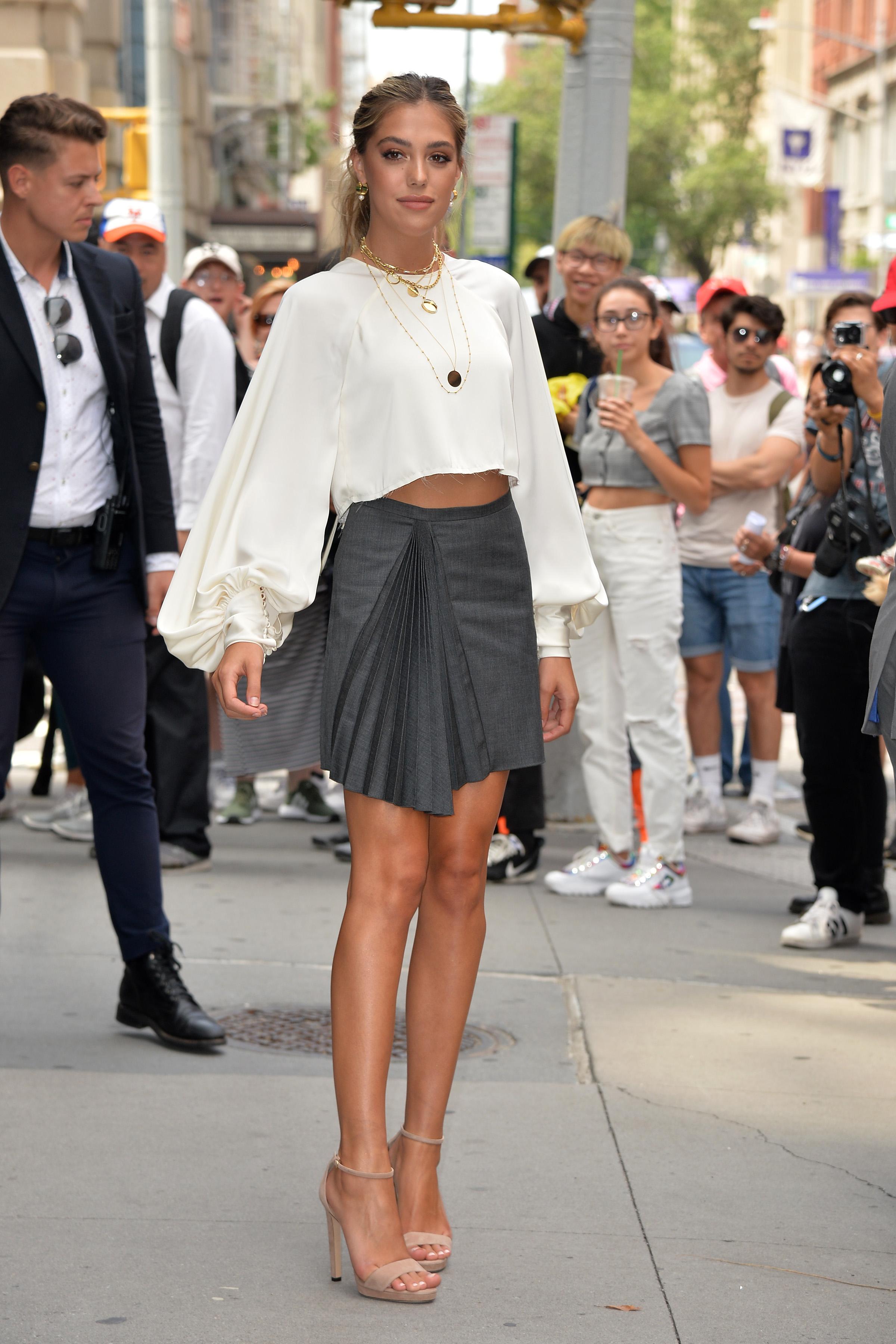 Sistine Rose Stallone tuvo un cambio de outfit