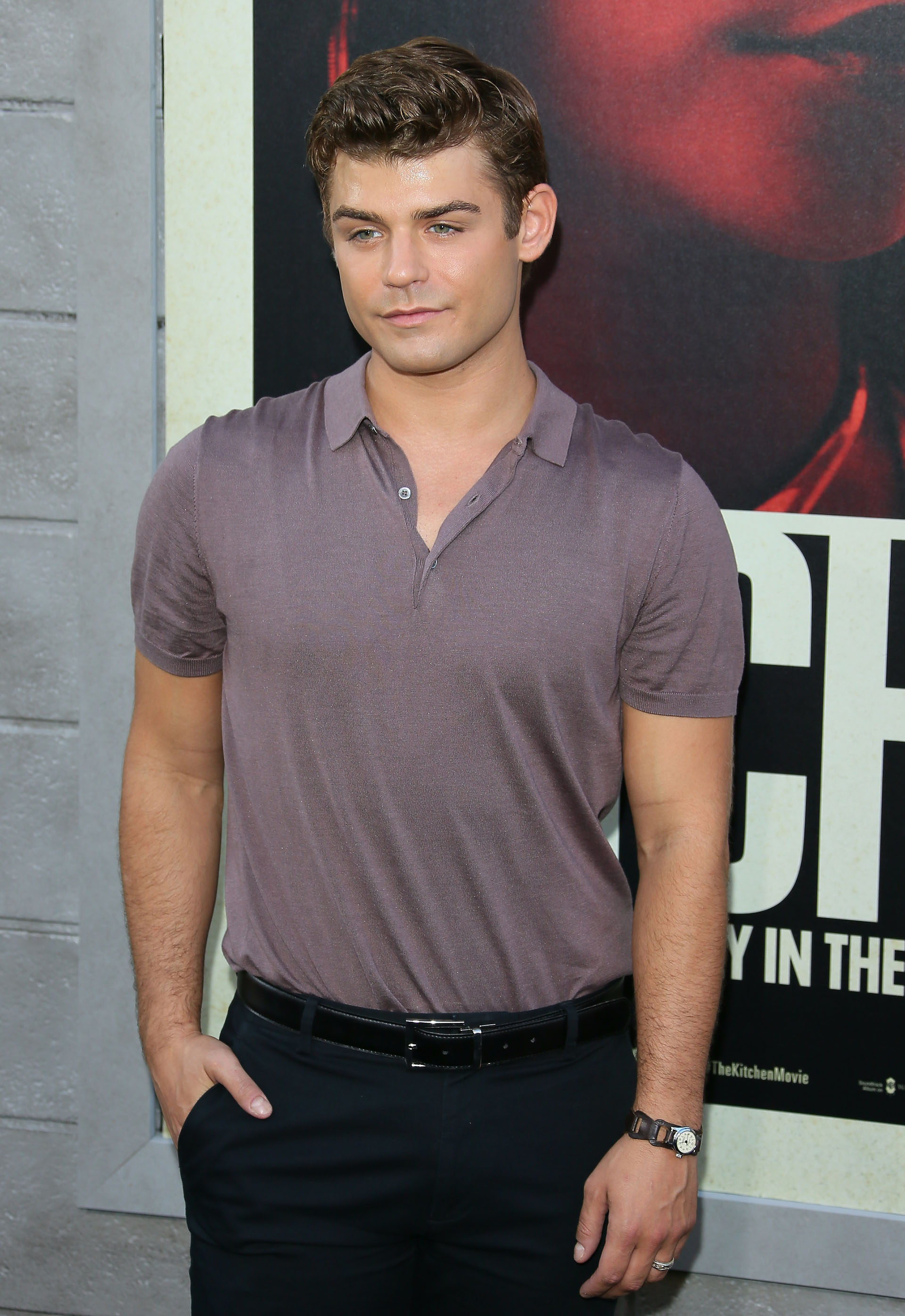 El actor Garrett Clayton