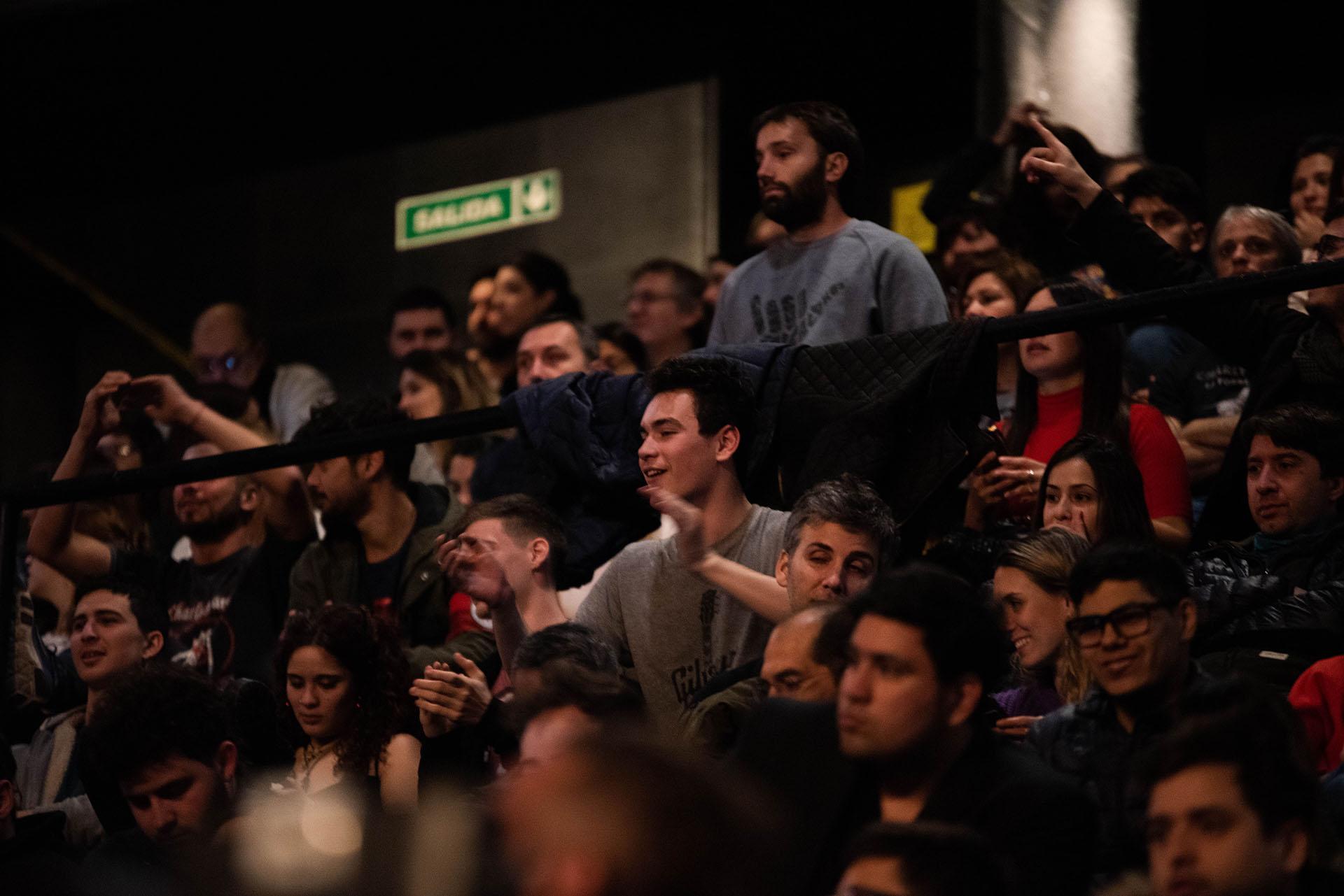 Fans de todas las edades disfrutaron de una nueva muestra de la vigencia de García a la hora de subirse a un escenario
