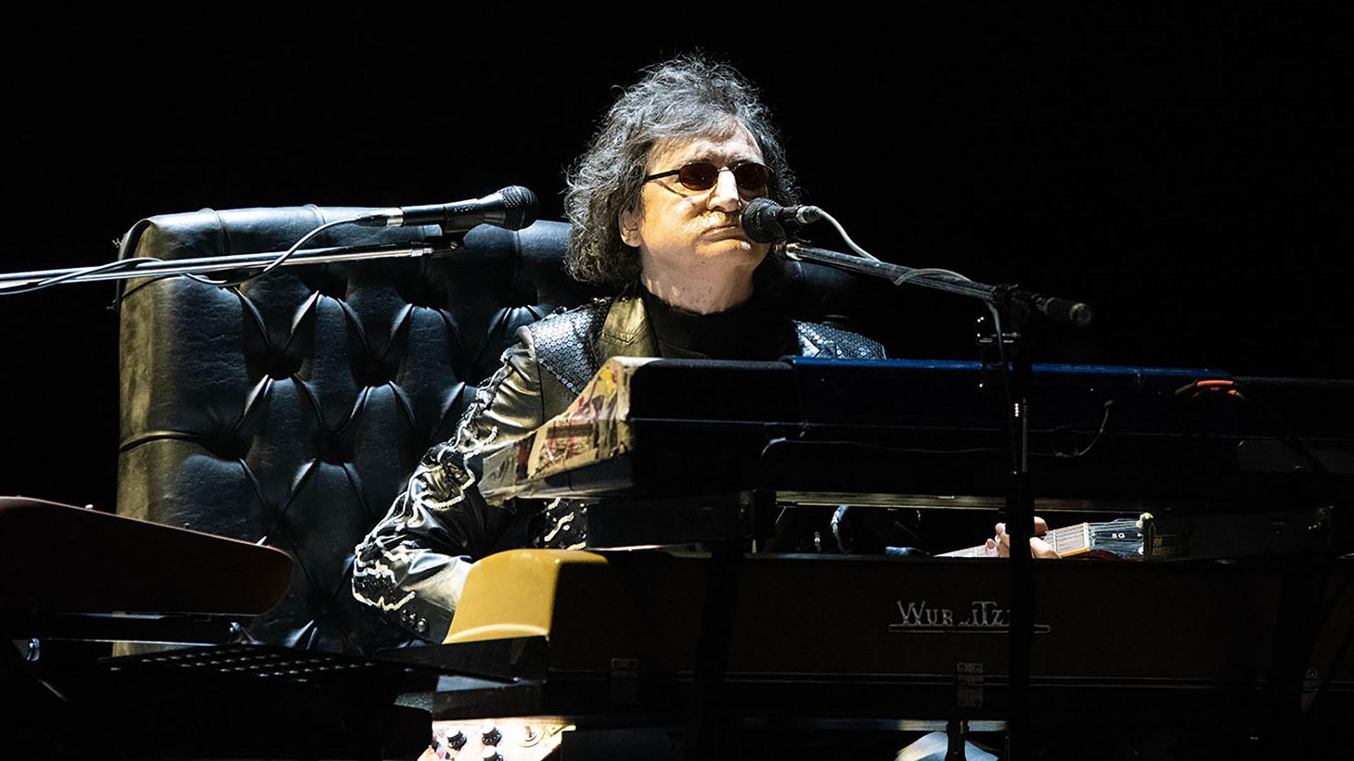 Charly volvió a reeditar su romance con los teclados en otra noche inolvidable para sus seguidores