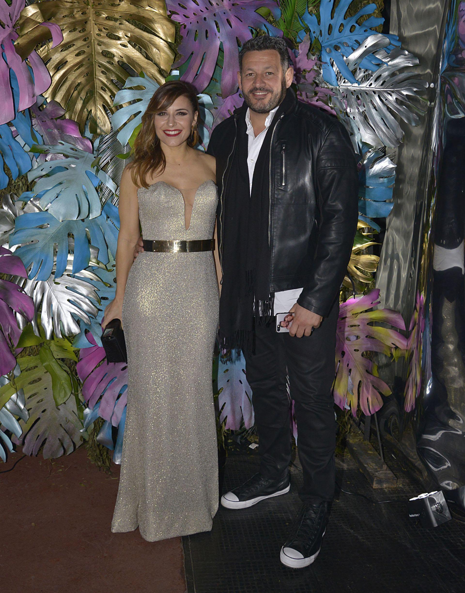 Mariana Brey y su pareja Pablo Melillo