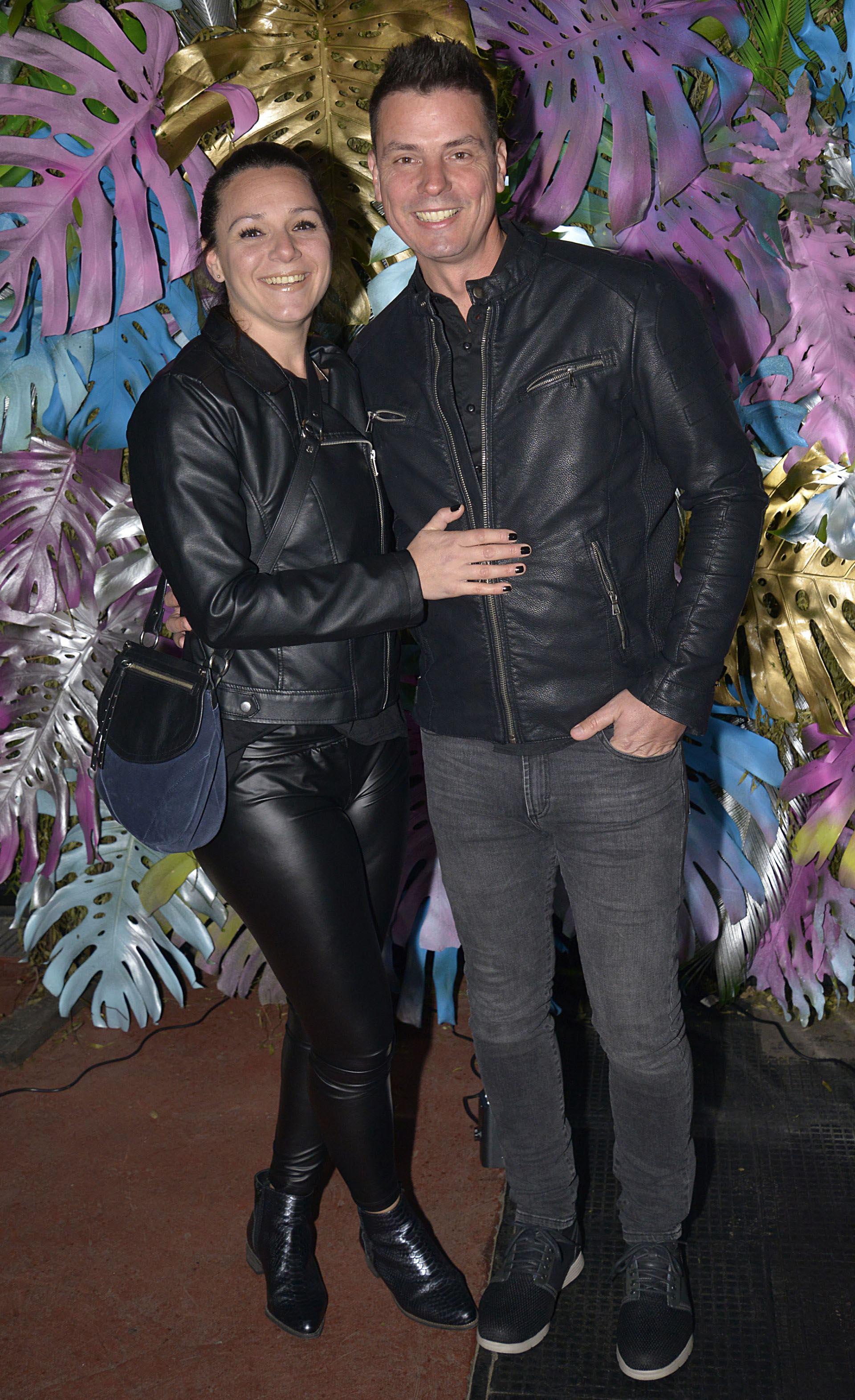 Santiago Zeyen y su esposa