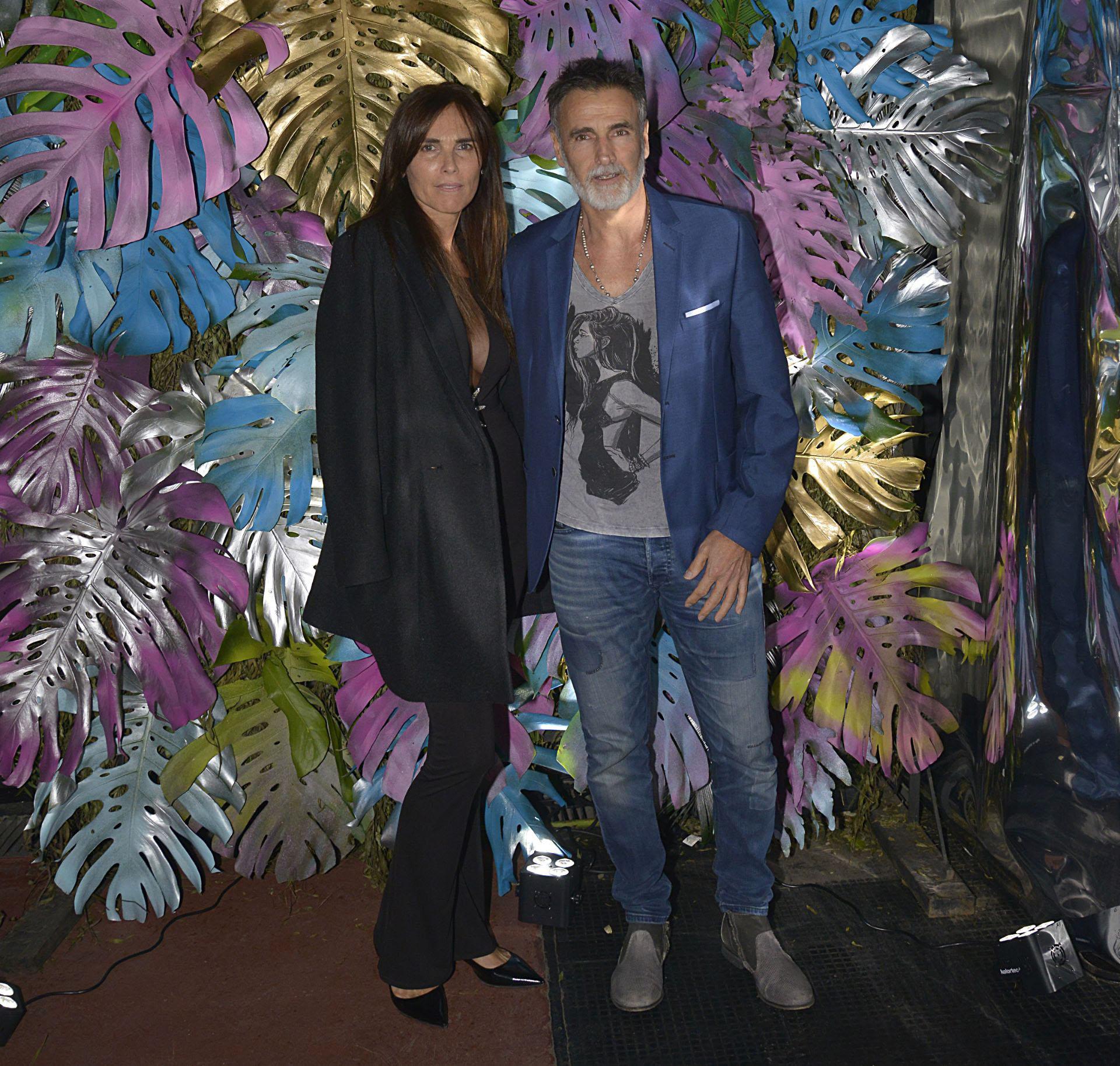 Willy García Navarro y su mujer