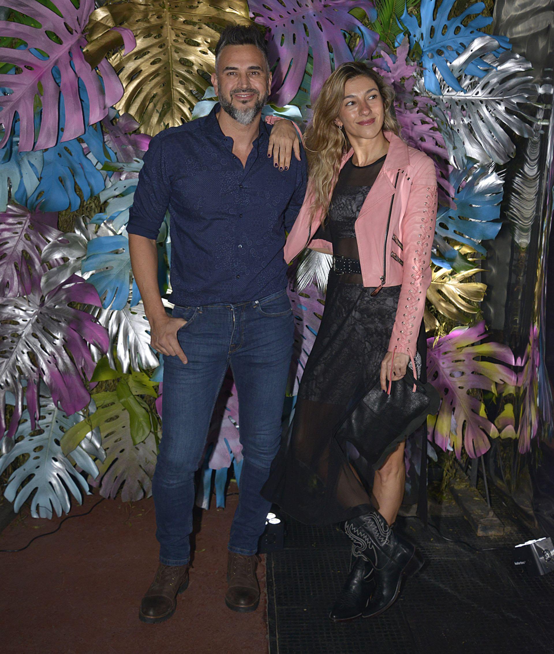 Leo Montero y su mujer María Laura Tedesco