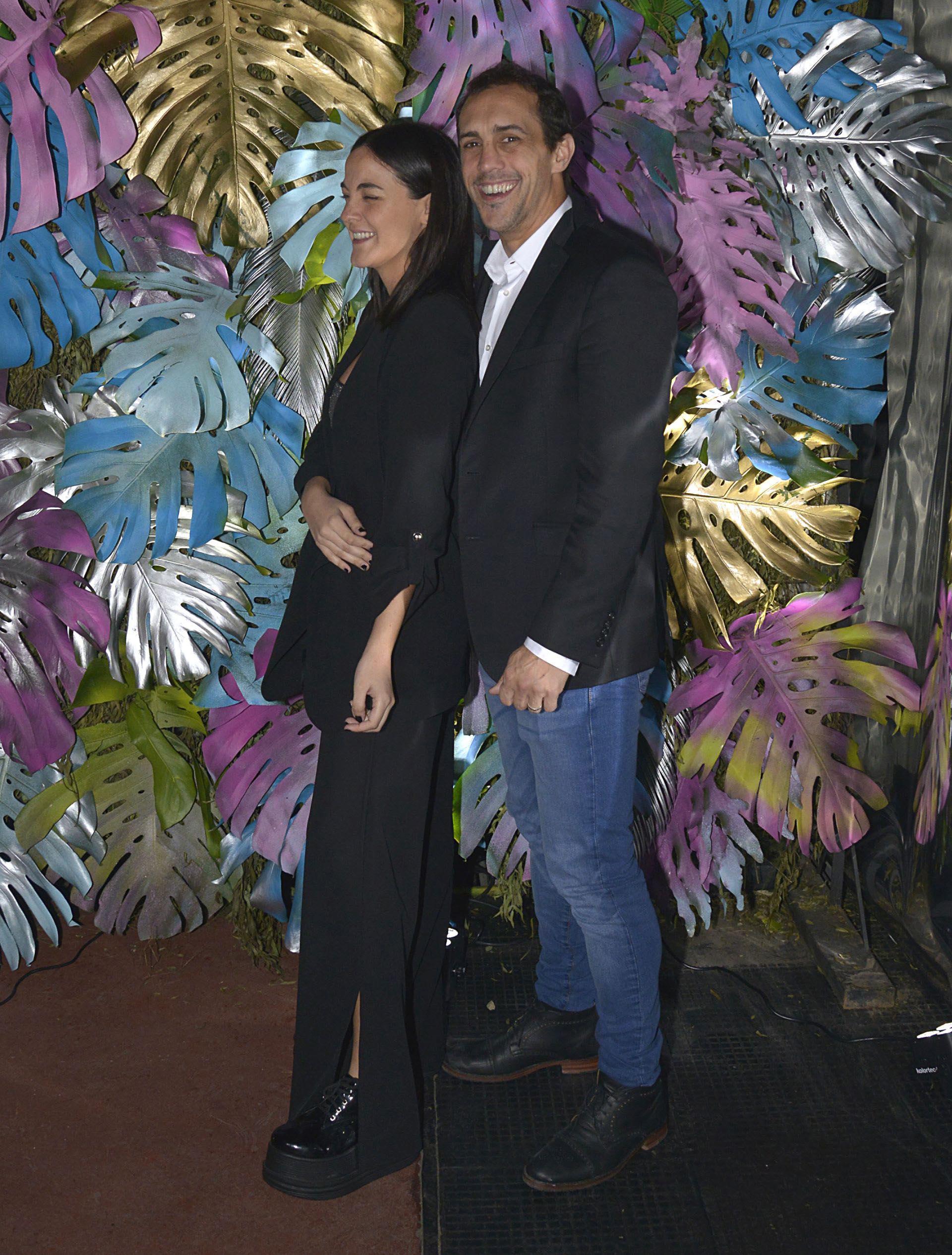 José Chatruc y su esposa