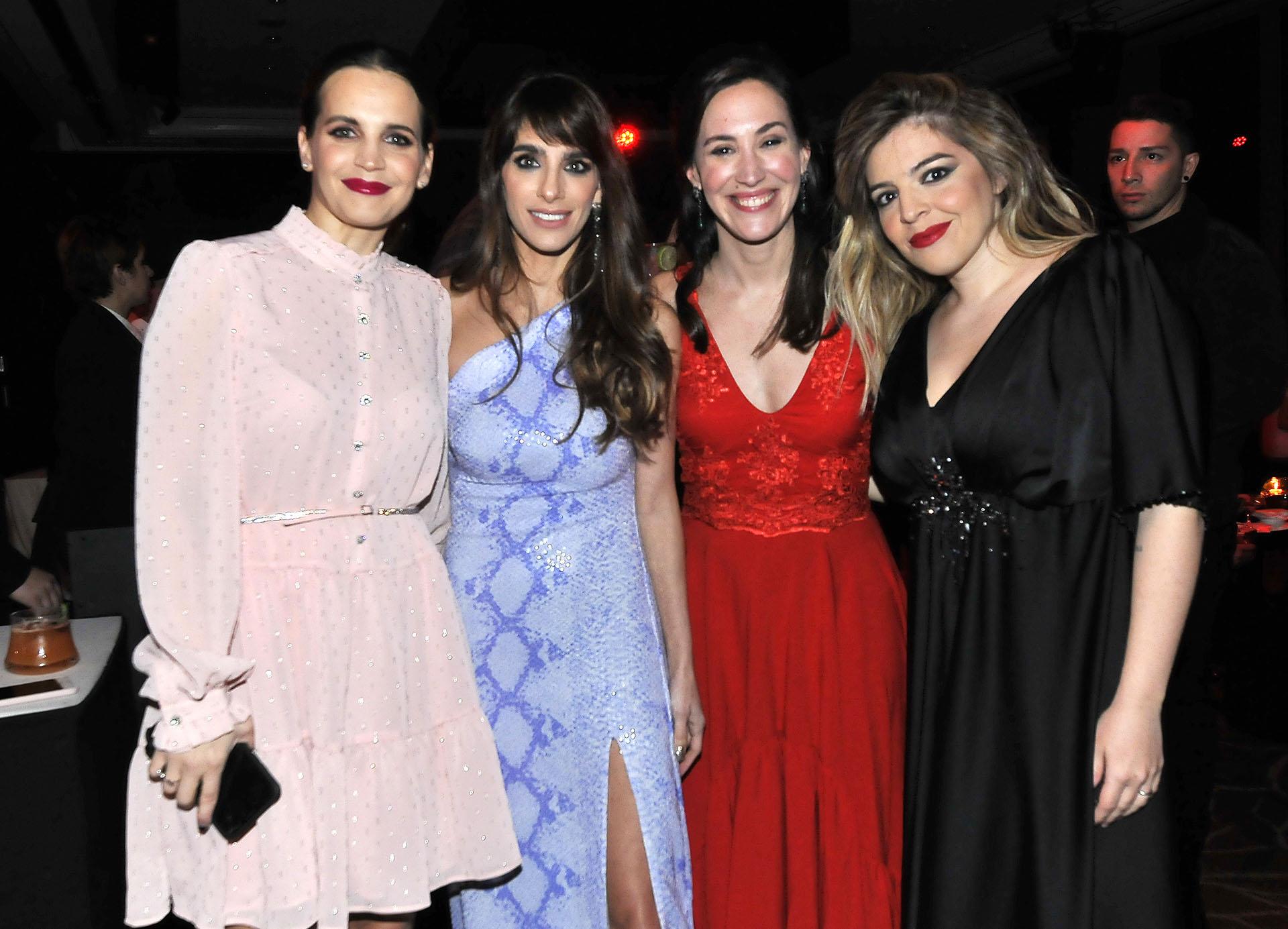Sabrina Garciarena, Gabriela Sari, Malena Solda y Dalma Maradona