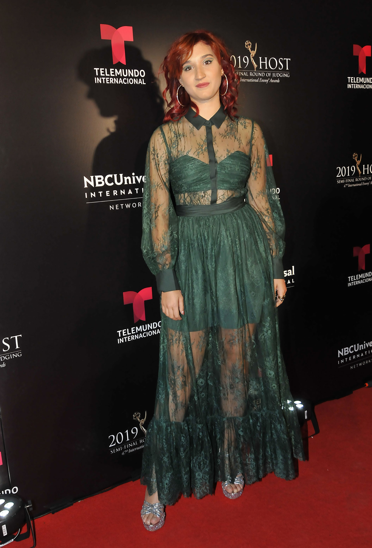 "Chiara Francia la protagonista de la serie ""Heidi, bienvenida a casa"" , serie de Netflix"