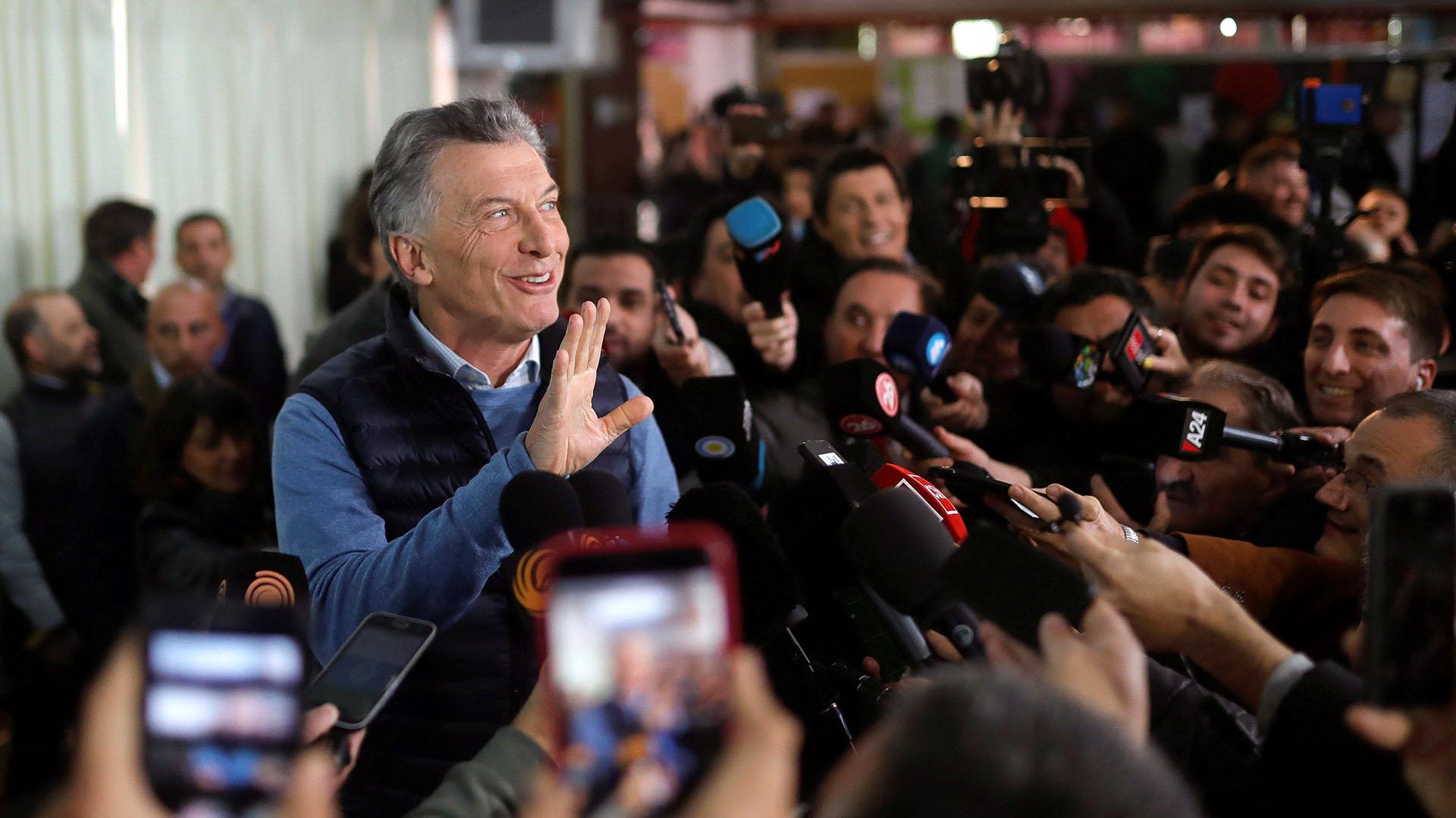 """Macri: """"Esta elección define los próximos 30 años de historia"""""""