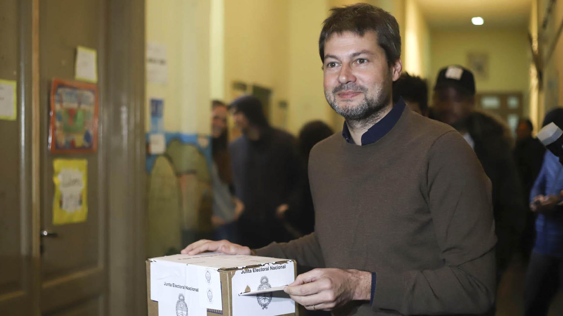 Matías Lammens. El presidente de San Lorenzo quiere derrotar a Larreta