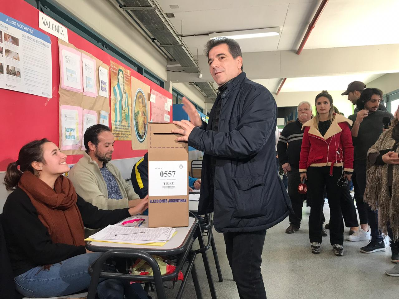 Cristian Ritondo, ministro de seguridad bonaerense y candidato a diputado nacional