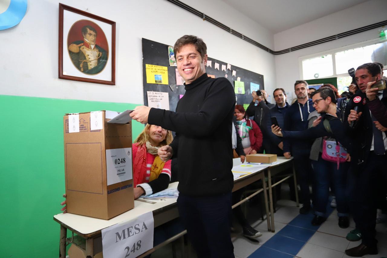 Axel Kicillof, candidato a gobernador por la provincia de Buenos AIres