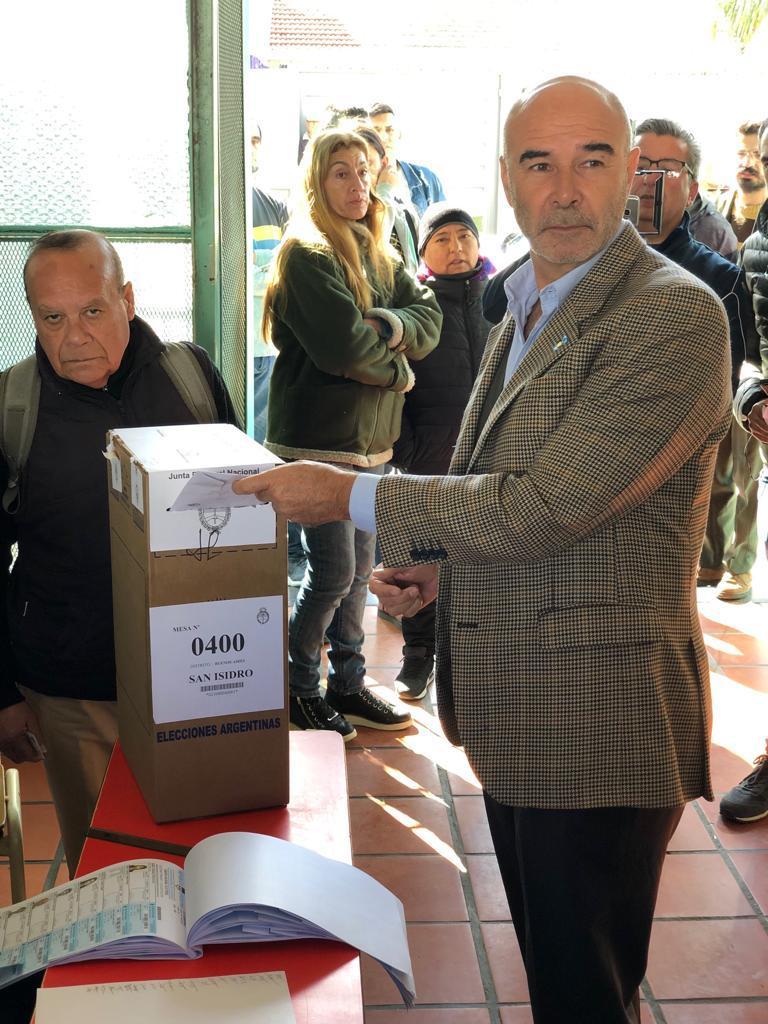 Juan José Gómez Centurión, precandidato a presidente