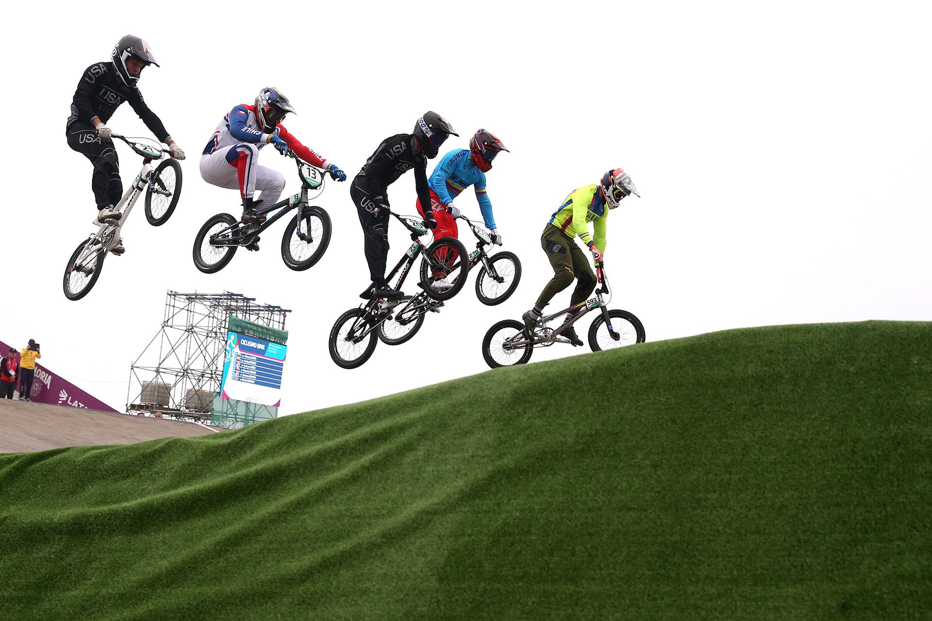 El circuito de Costa Verde fue la sede del BMX