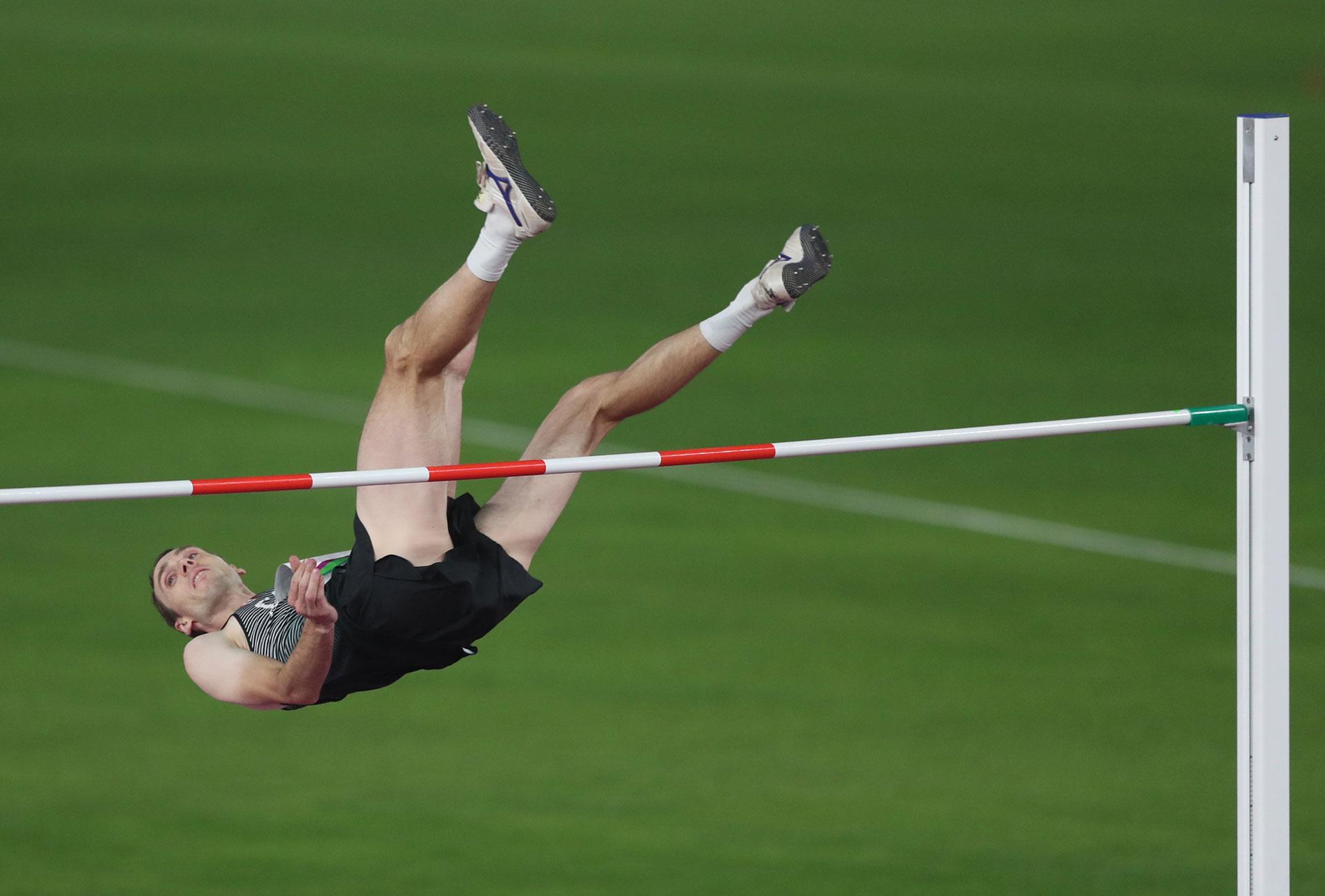El salto en alto, una de las pruebas destacadas del atletismo