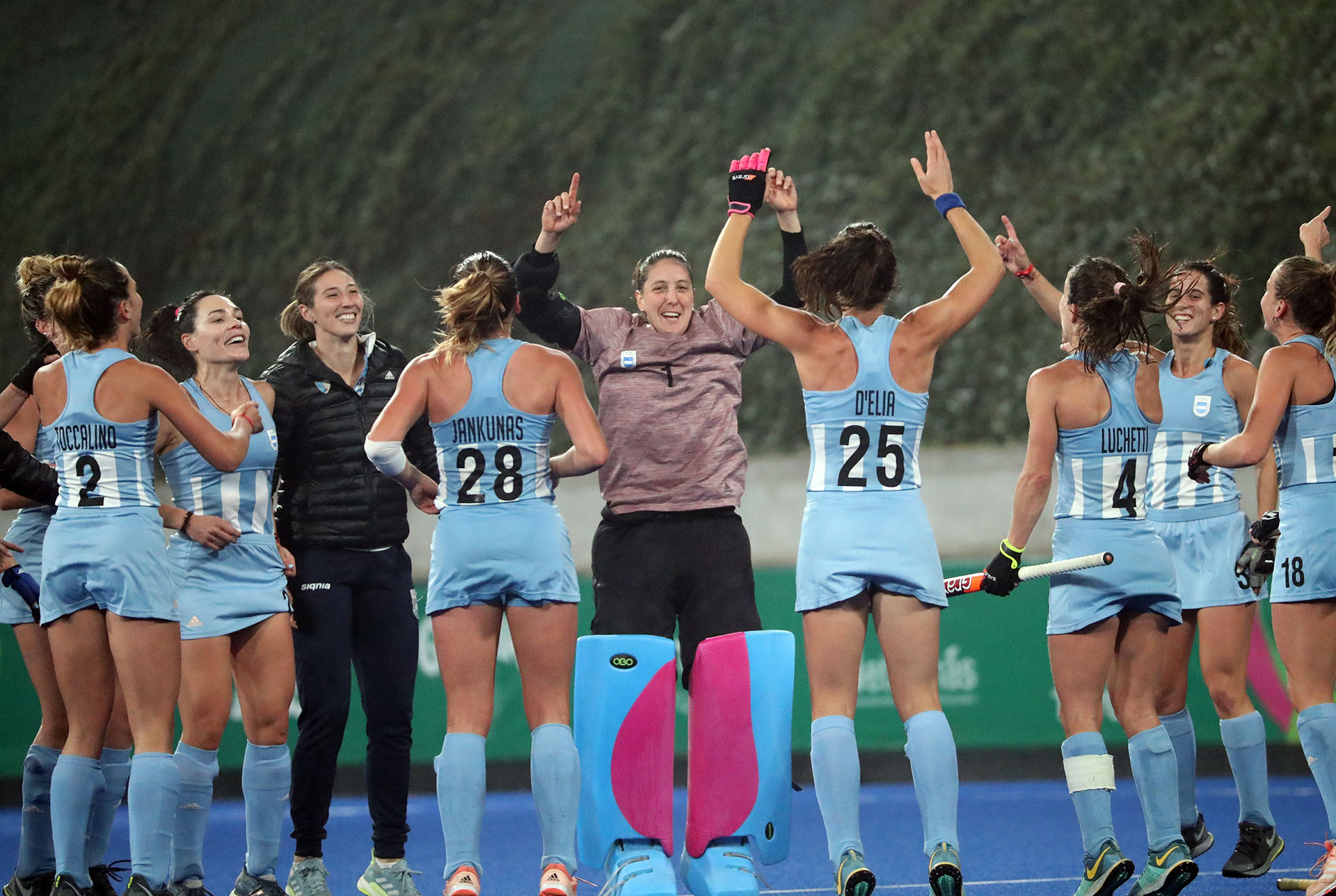 Las leonas se llevaron el Oro en el hockey sobre césped femenino